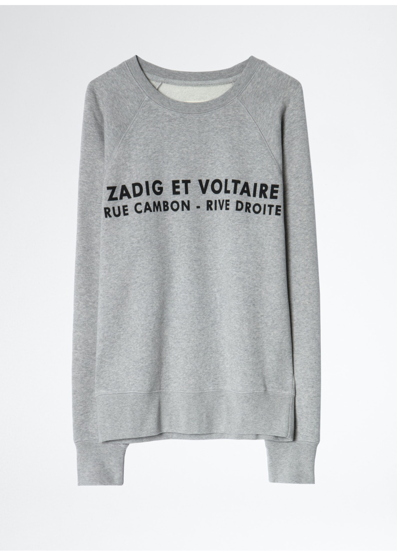 Zadig & Voltaire Upper zv address grey