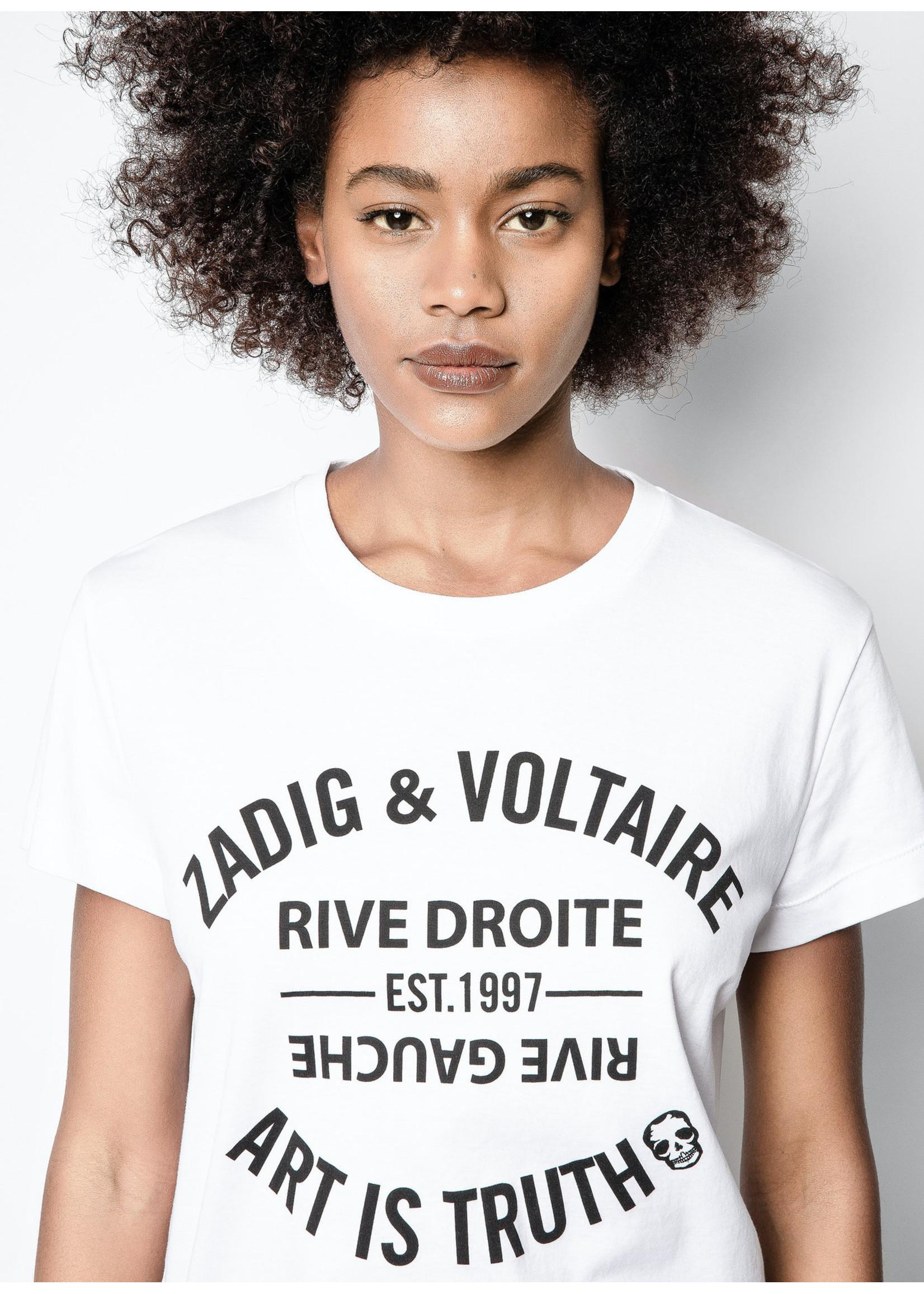 Zadig & Voltaire Walk blason white