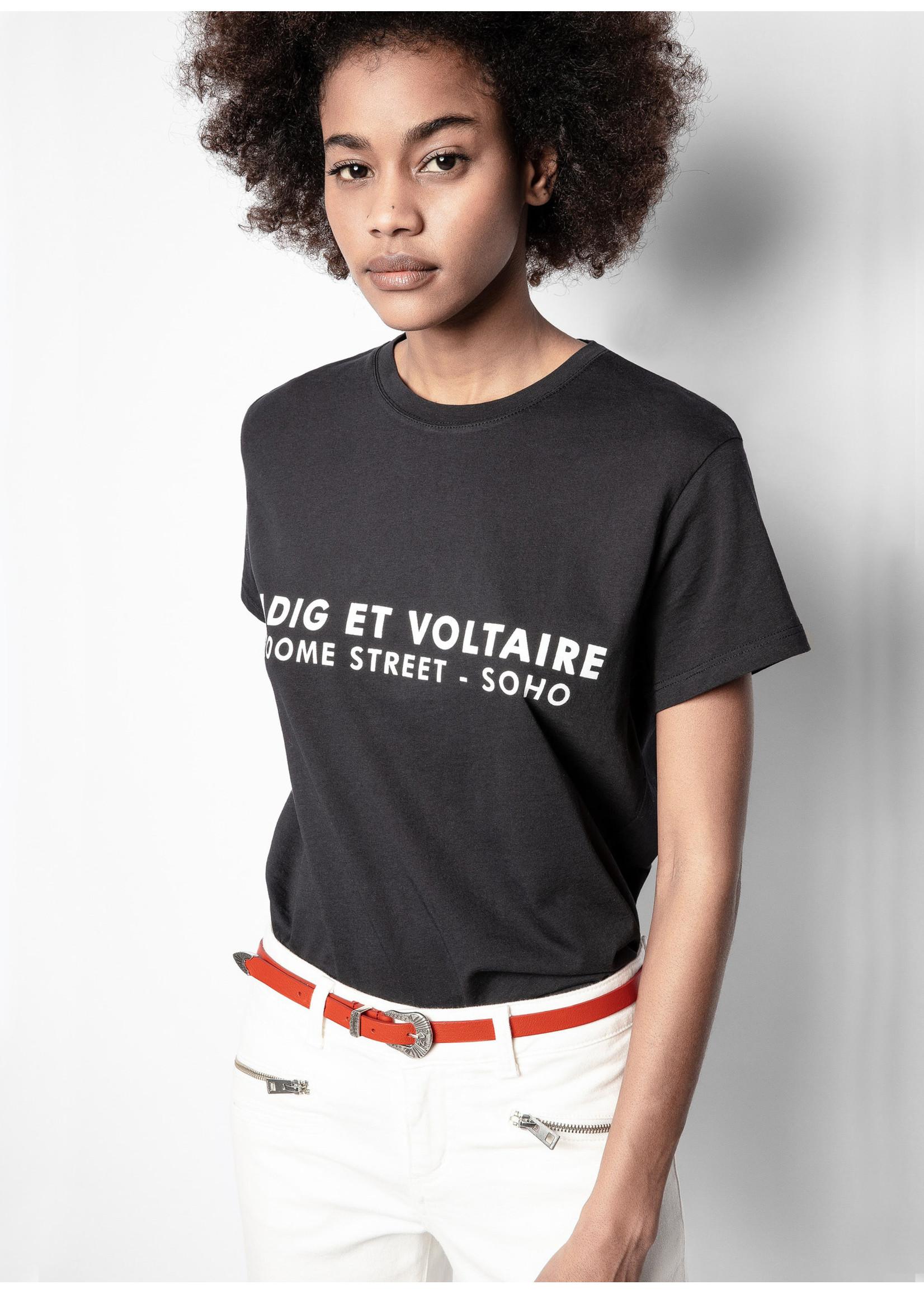 Zadig & Voltaire Zoe zv address black