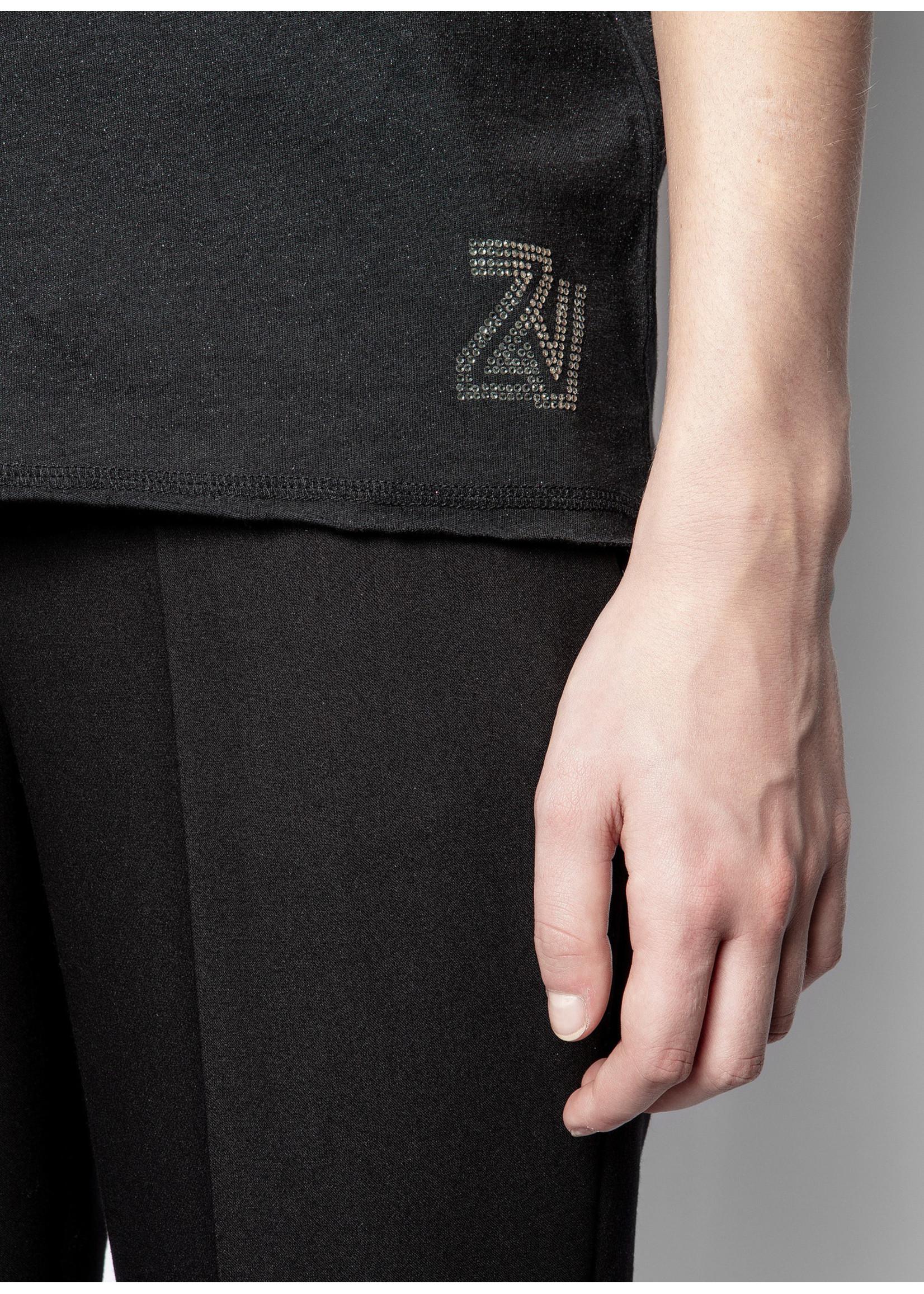 Zadig & Voltaire Cruz glitter zv black