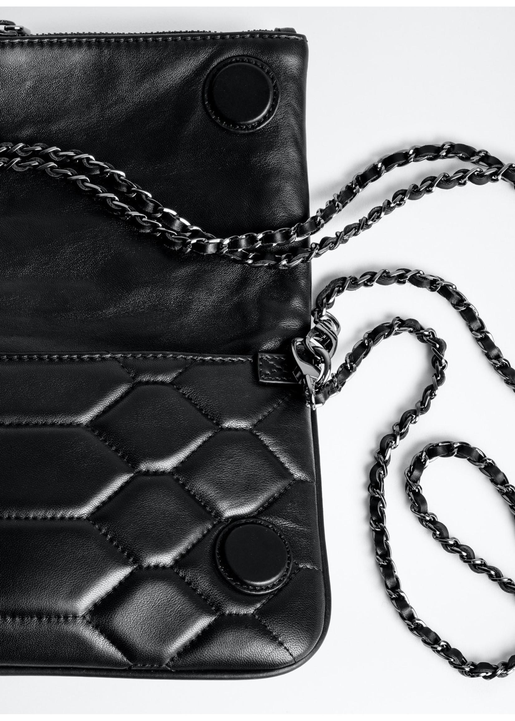 Zadig & Voltaire Rock XL mat sca black