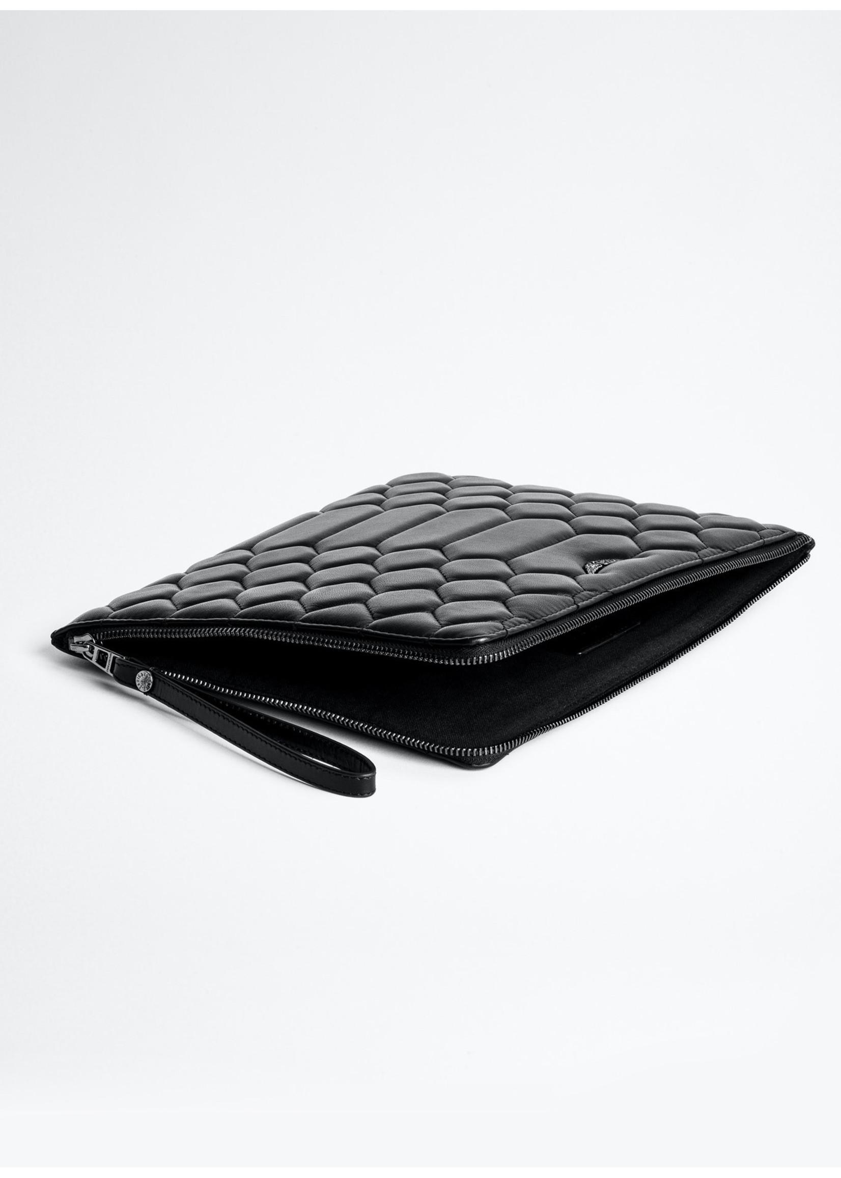Zadig & Voltaire Maxi uma xl mat black