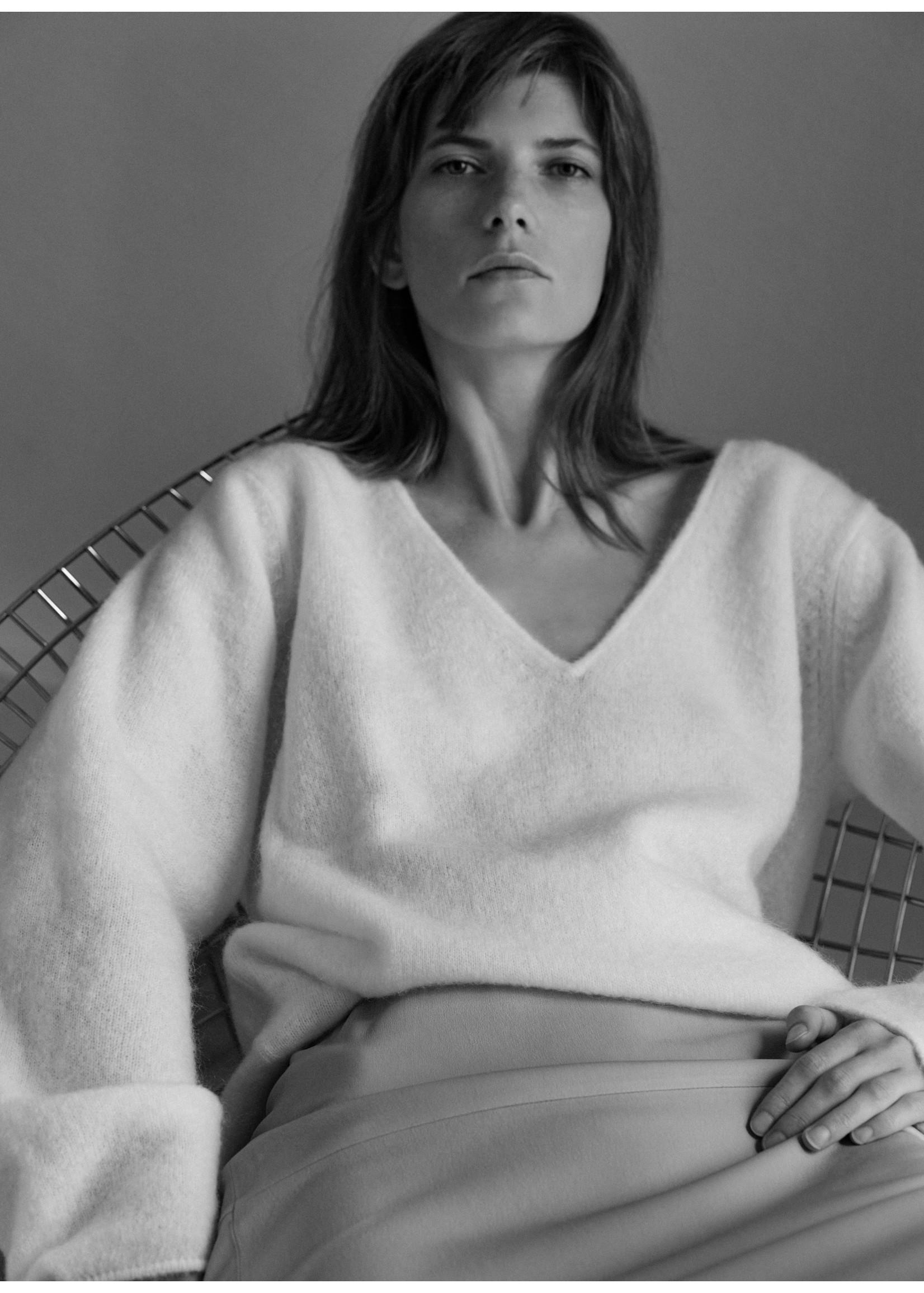 Malene Birger Rhila knitwear soft white