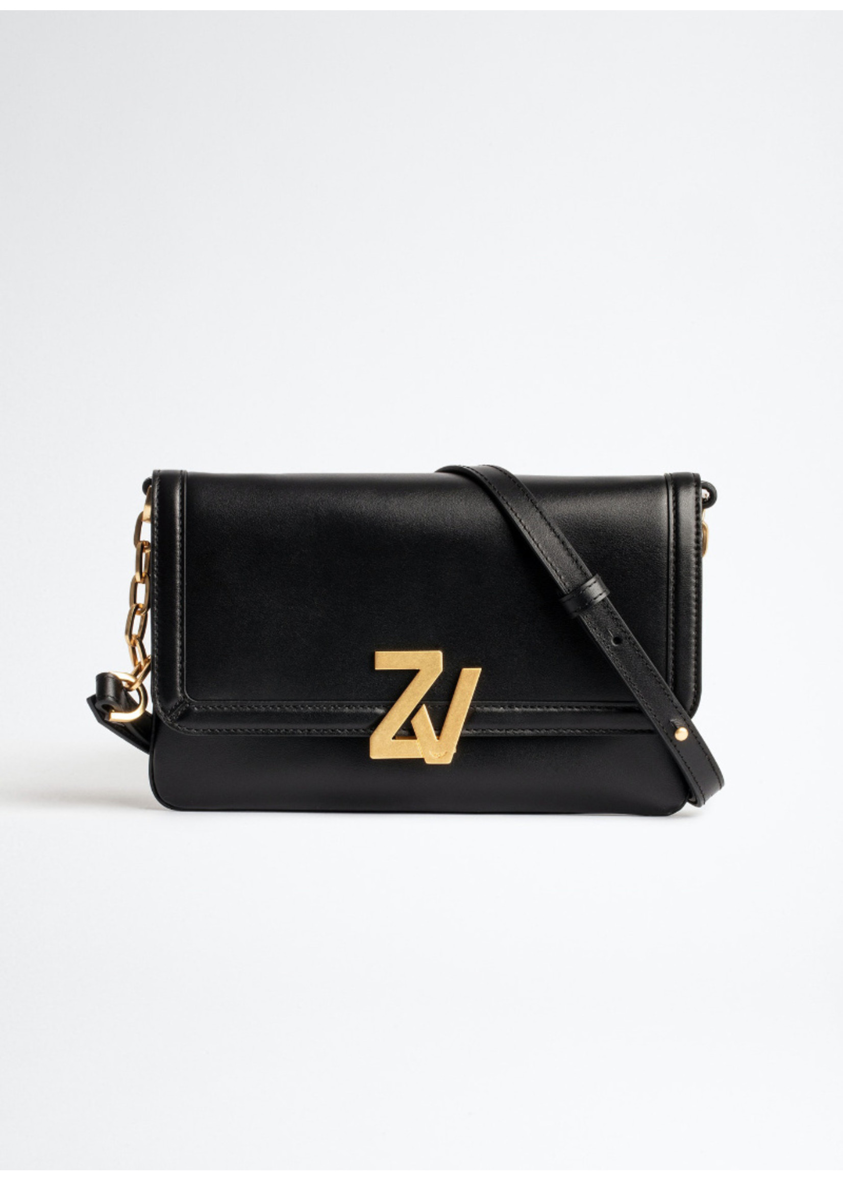 Zadig & Voltaire ZV initiale clutch black