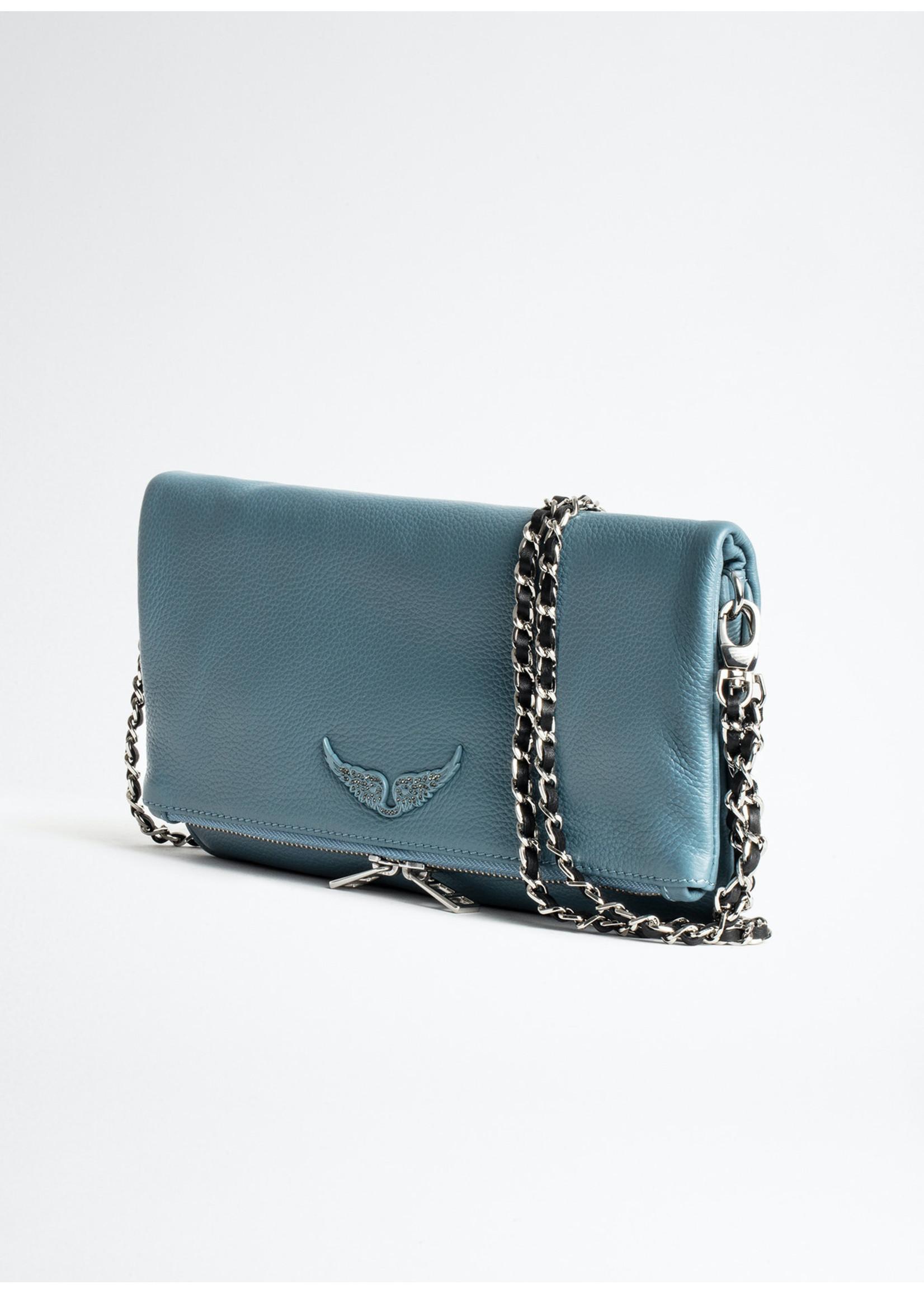 Zadig & Voltaire Rock grained le blue