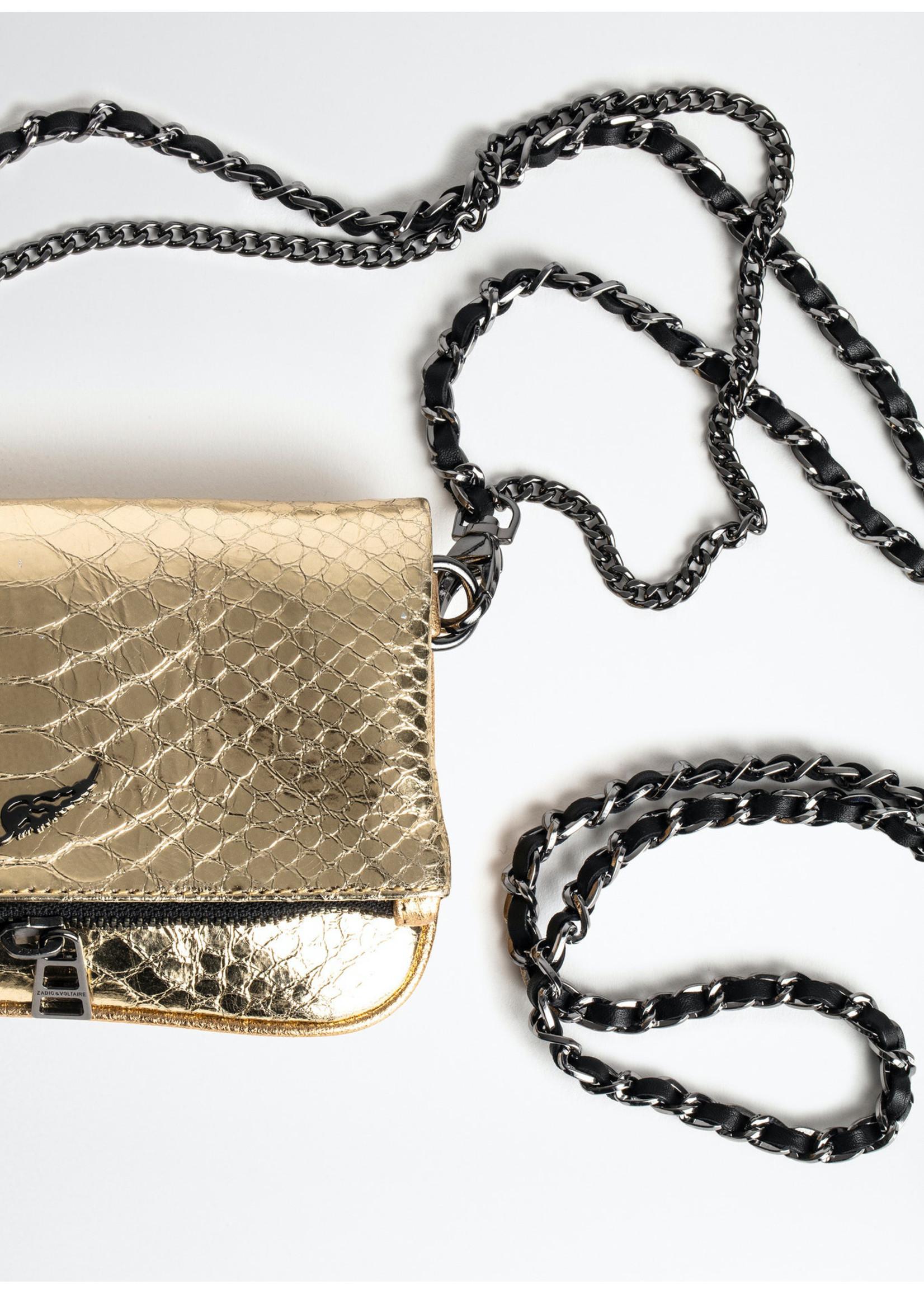 Zadig & Voltaire Rock nano metal gold