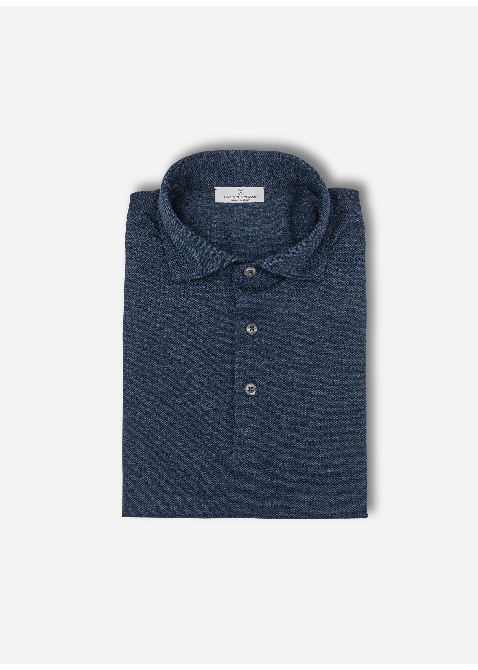 Ridiculous Classic Polo jeans blue pique