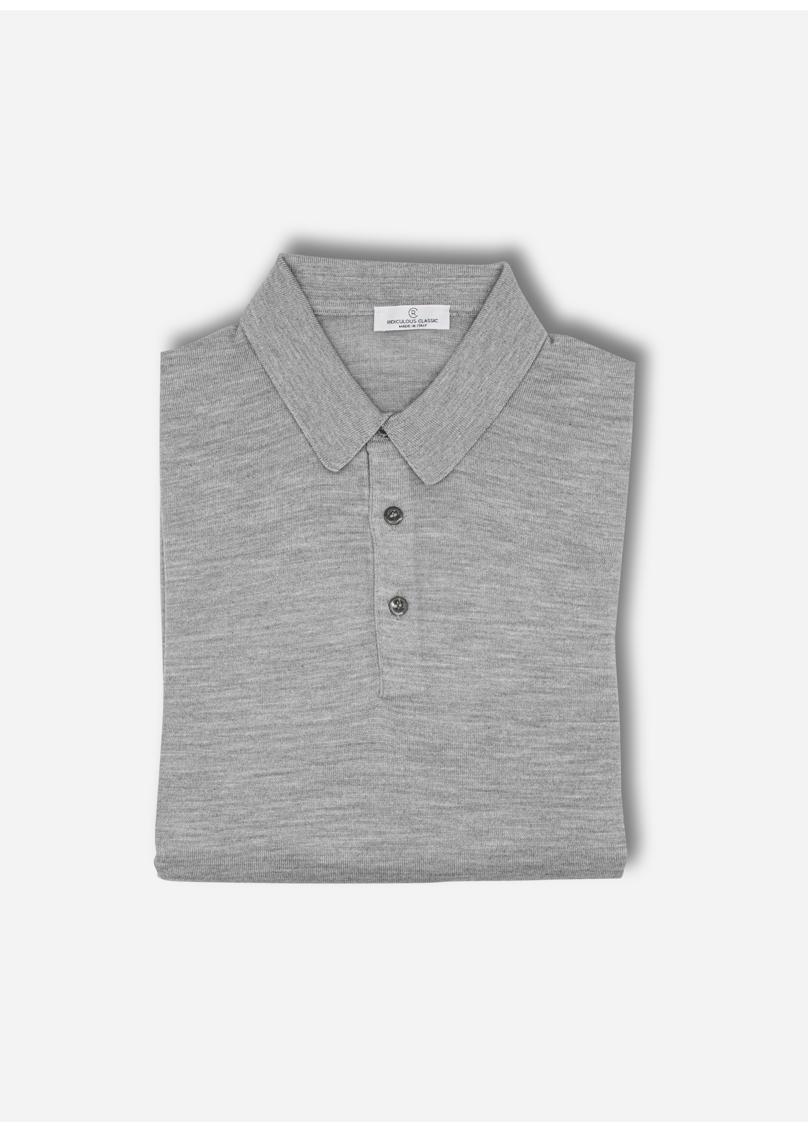 Ridiculous Classic Polo ls grey tennis