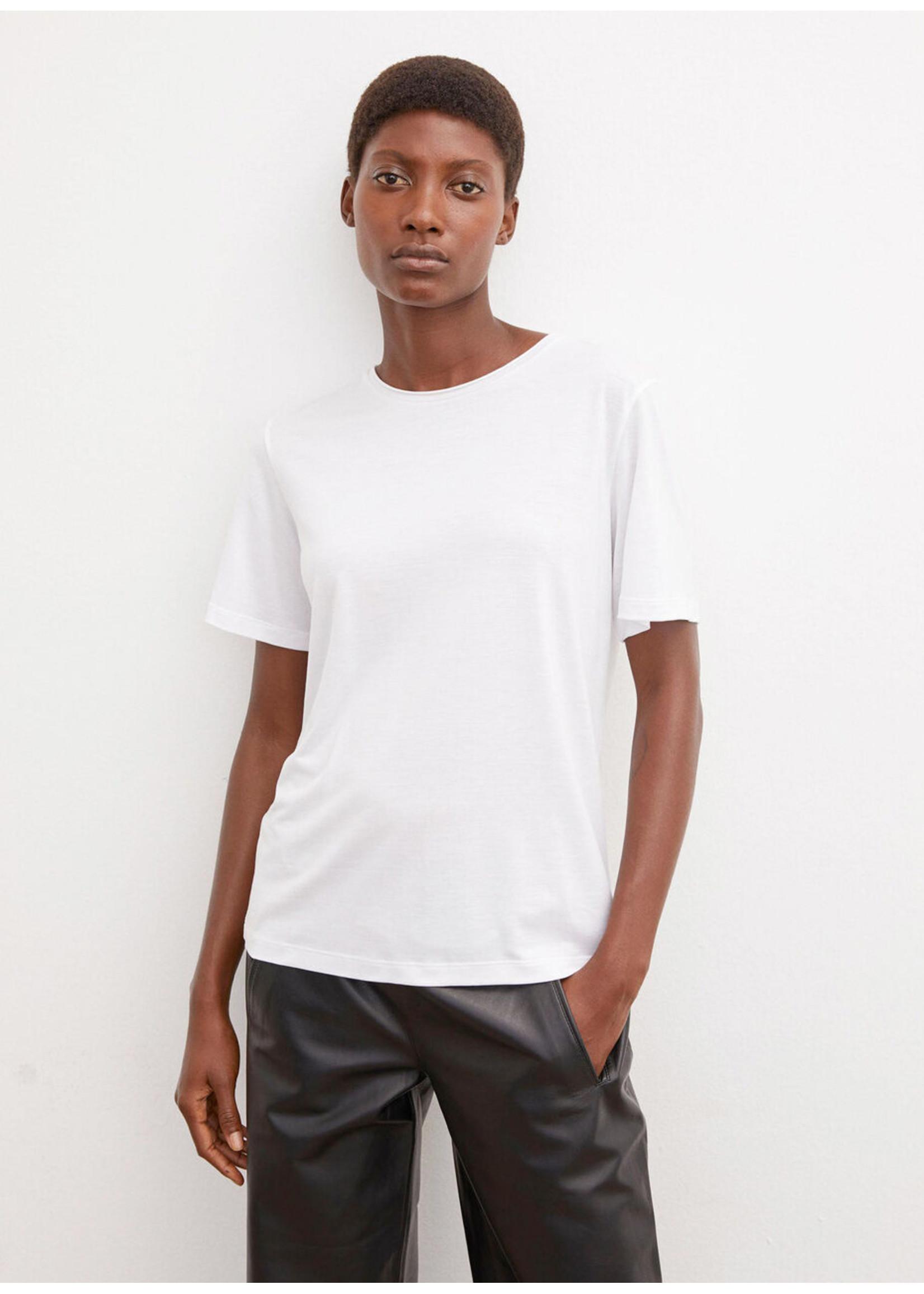 Malene Birger Amatta tshirt pure white