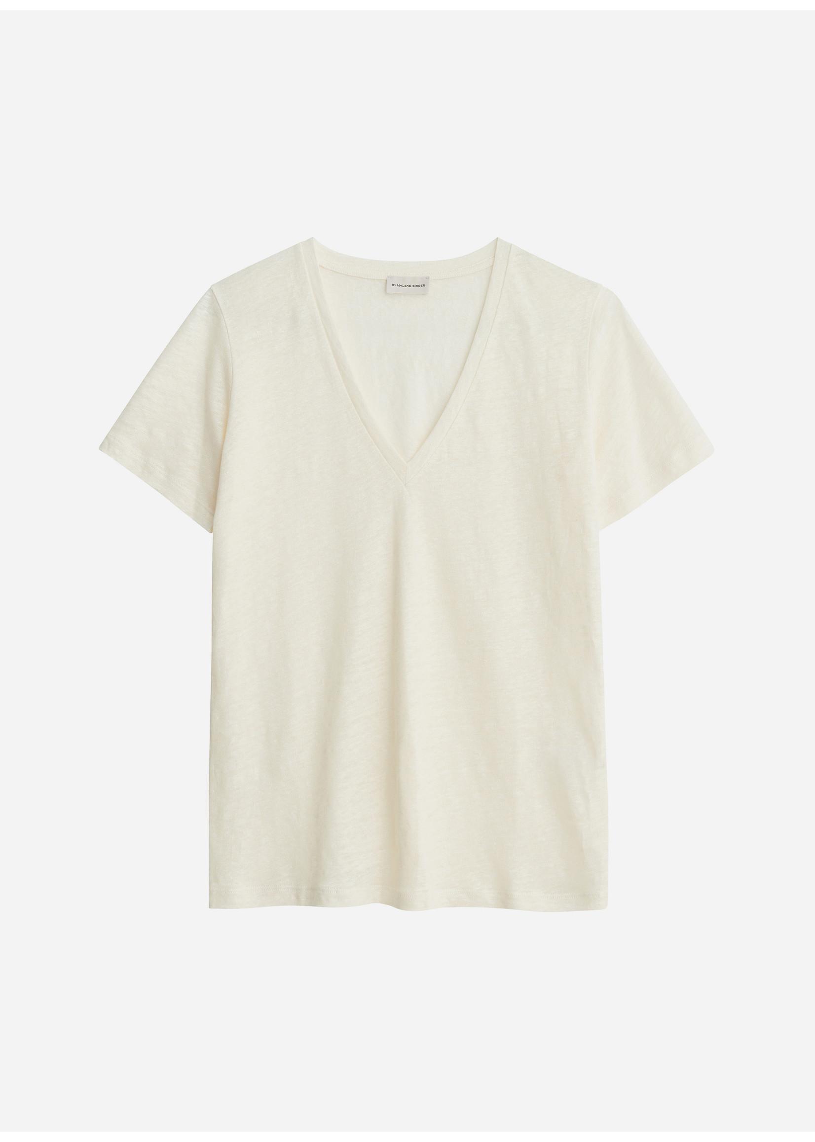 Malene Birger Zooey tshirt soft white
