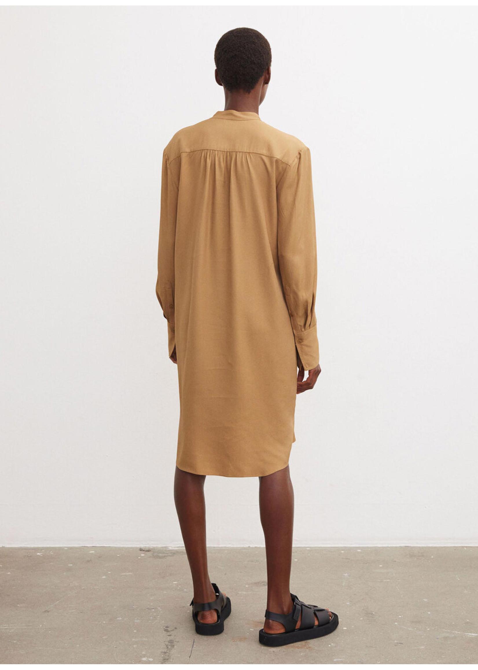 Malene Birger Mabilla dress golden beige
