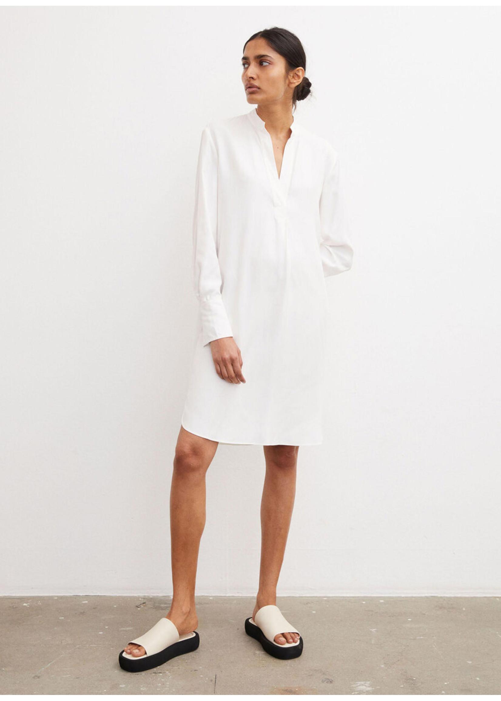 Malene Birger Mabilla dress soft white