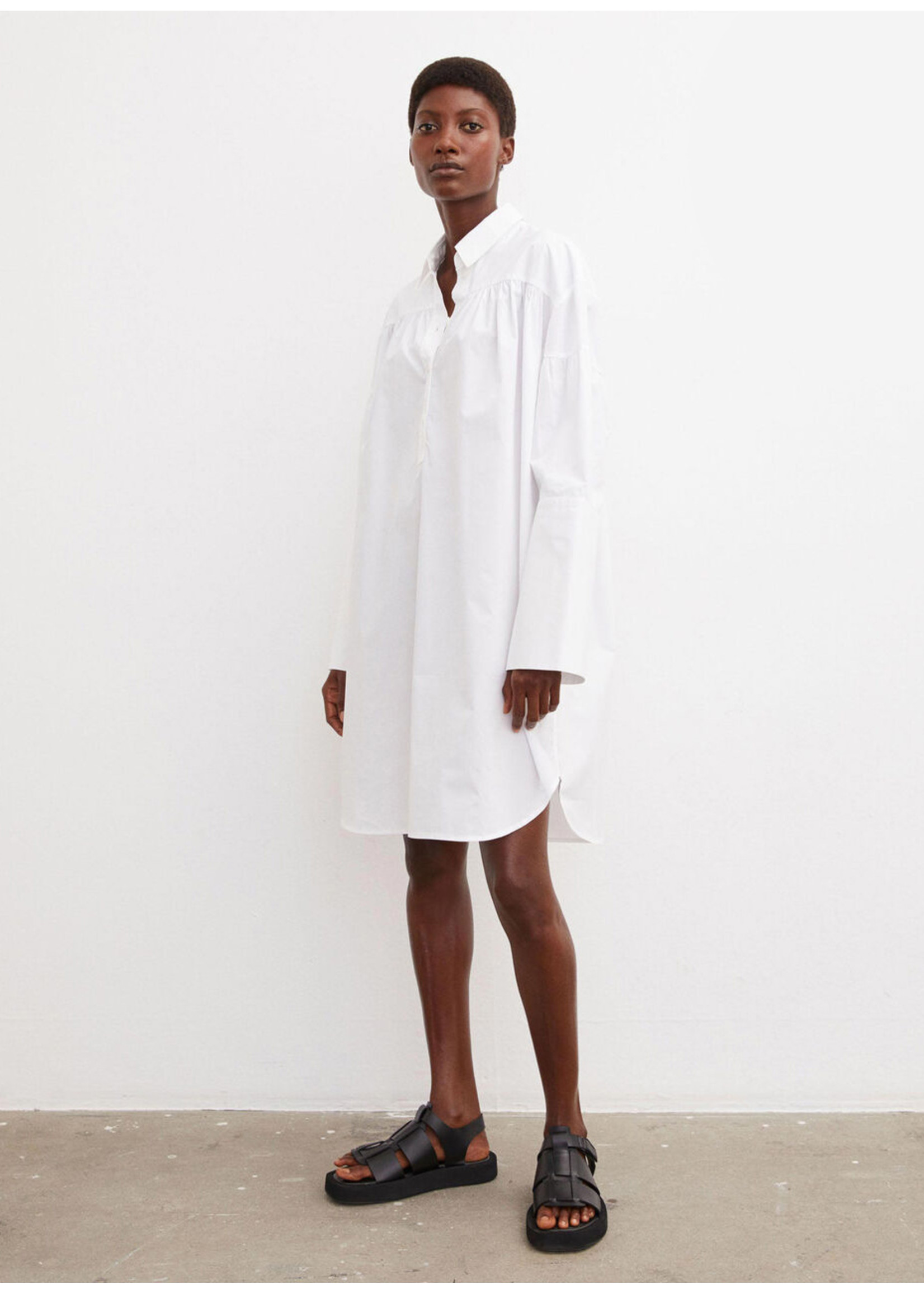 Malene Birger Nikolana dress pure white