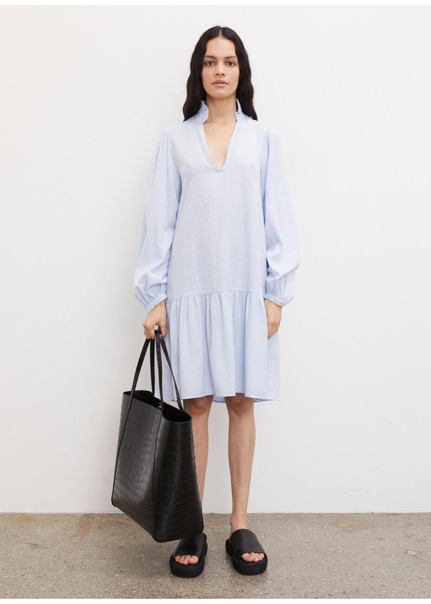 Malene Birger Elegia dress light blue