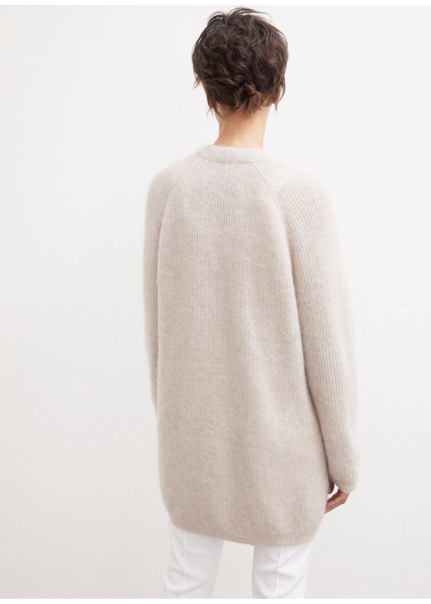 Malene Birger Belinta cardigan soft white
