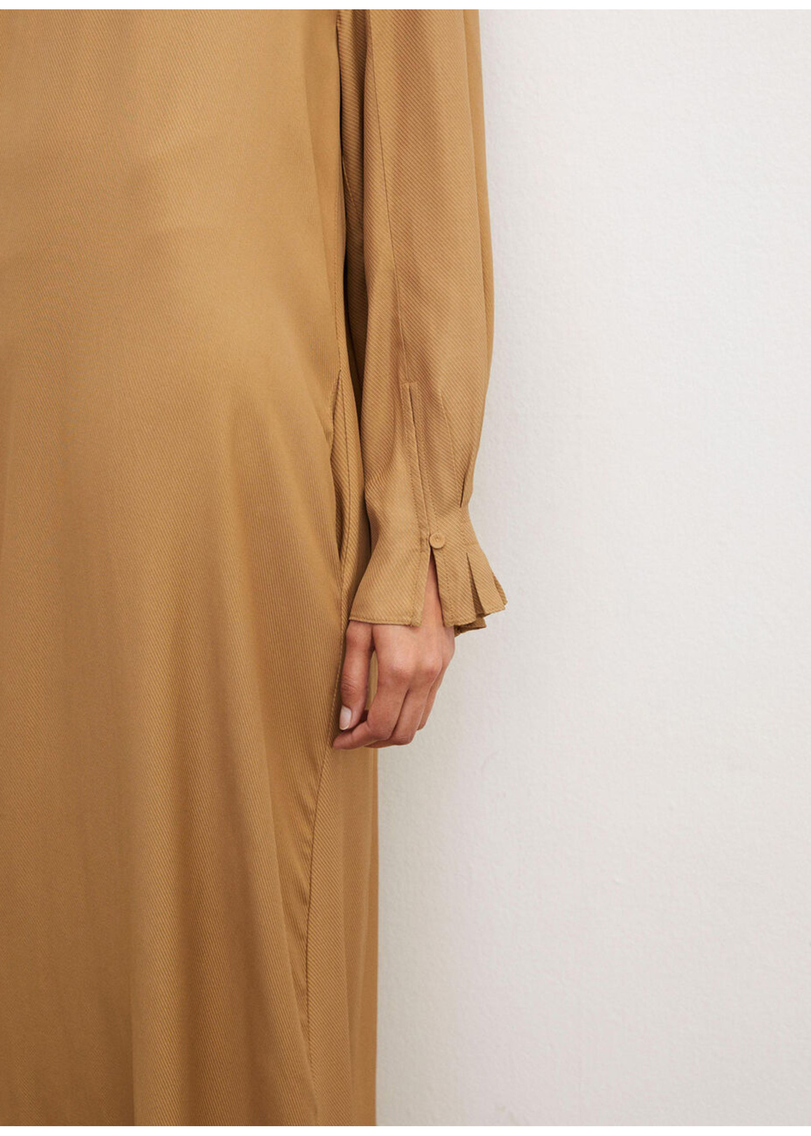 Malene Birger Daylia dress golden beige