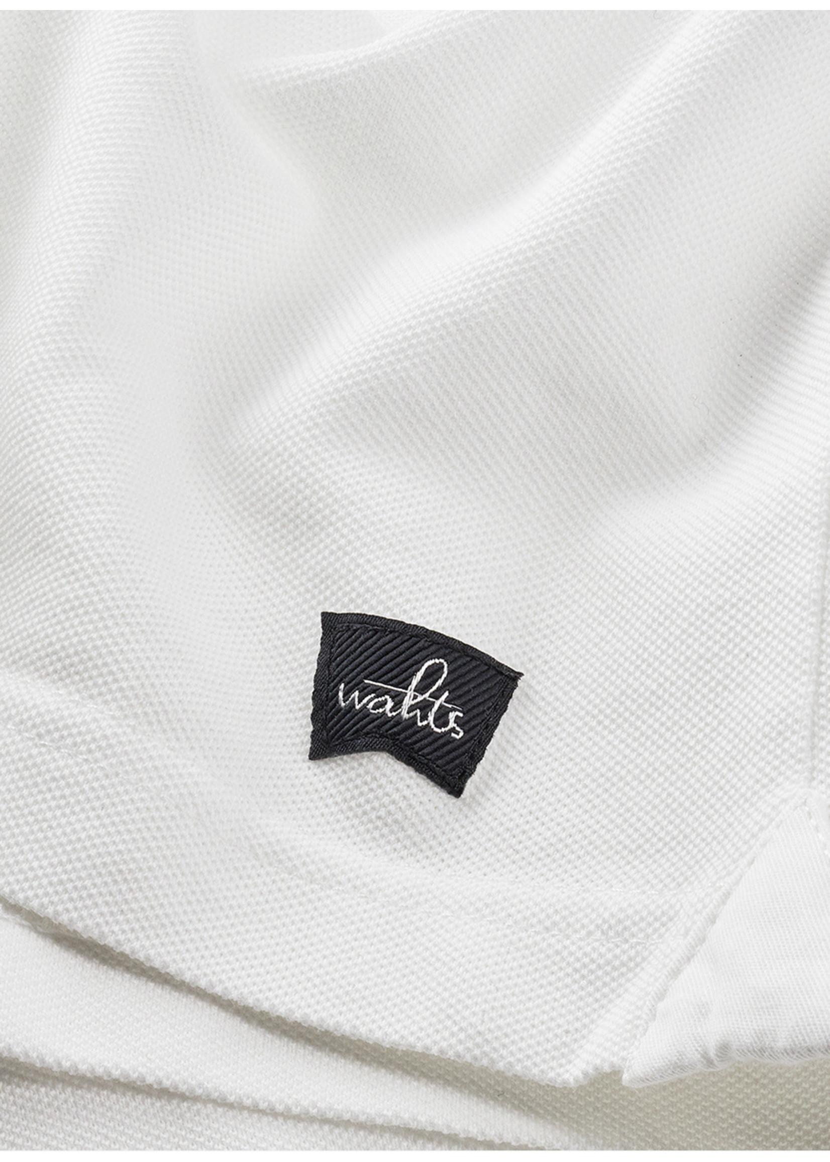 Wahts Davis tailored polo shirt pure white