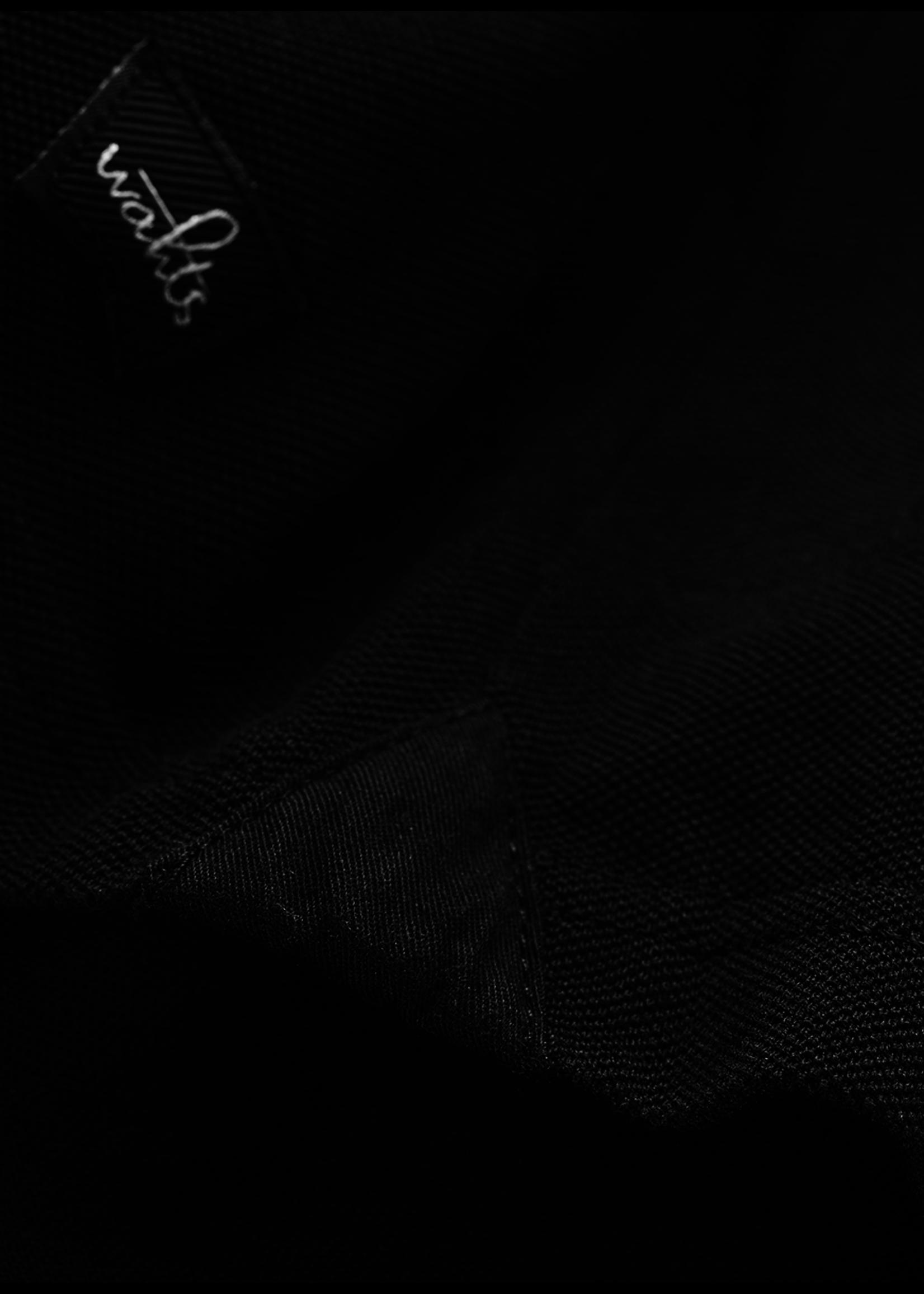 Wahts Davis tailored polo shirt pure black