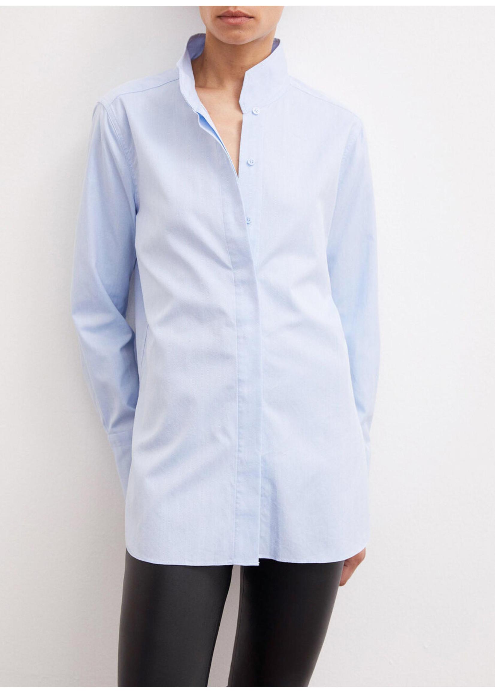 Malene Birger Leijai shirt light blue