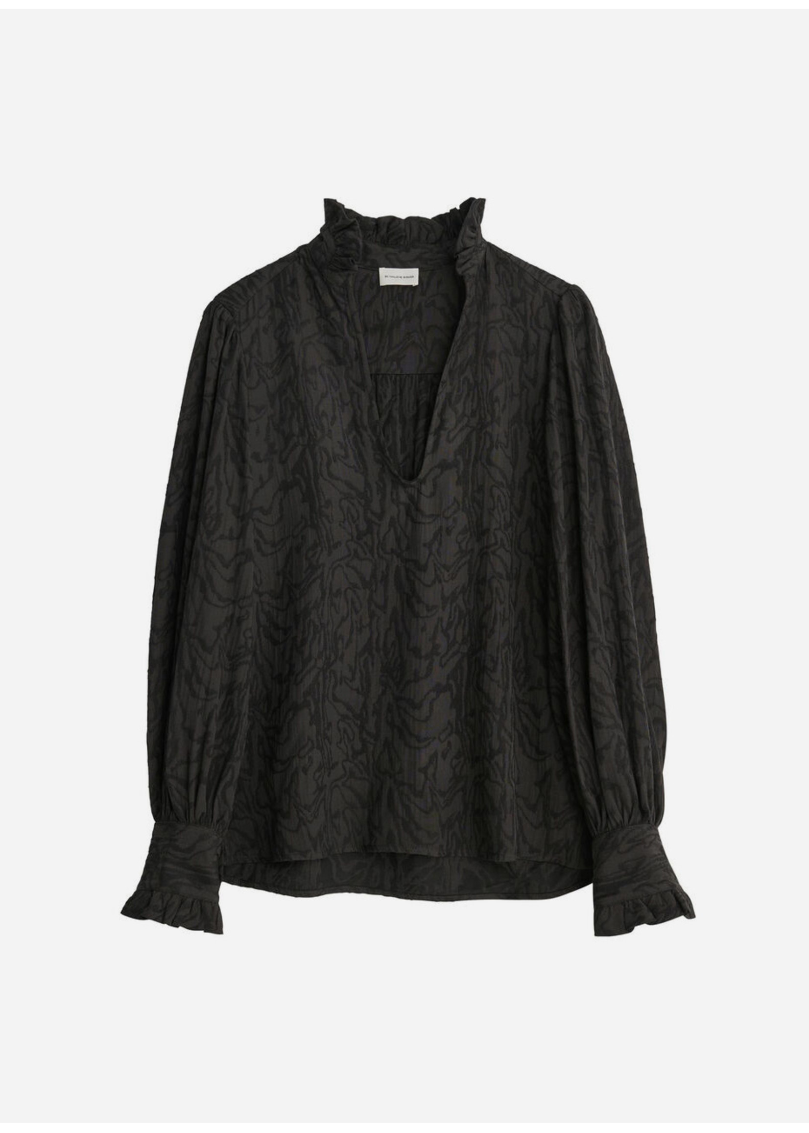 Malene Birger Cassinia shirt black