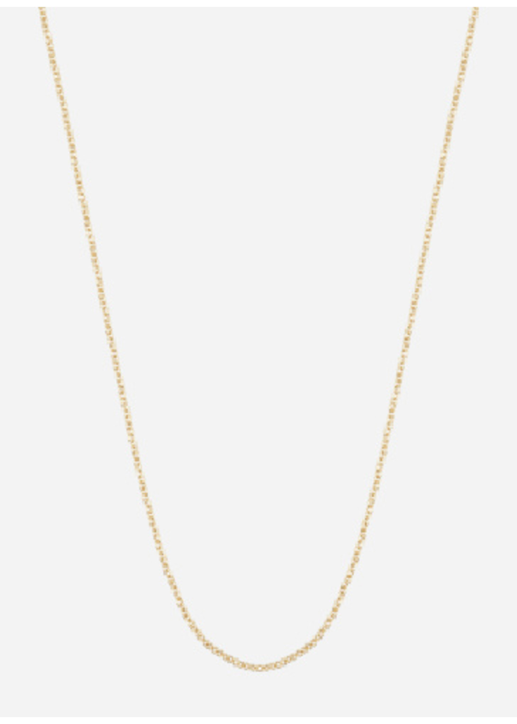 Just Franky Cube necklace plain