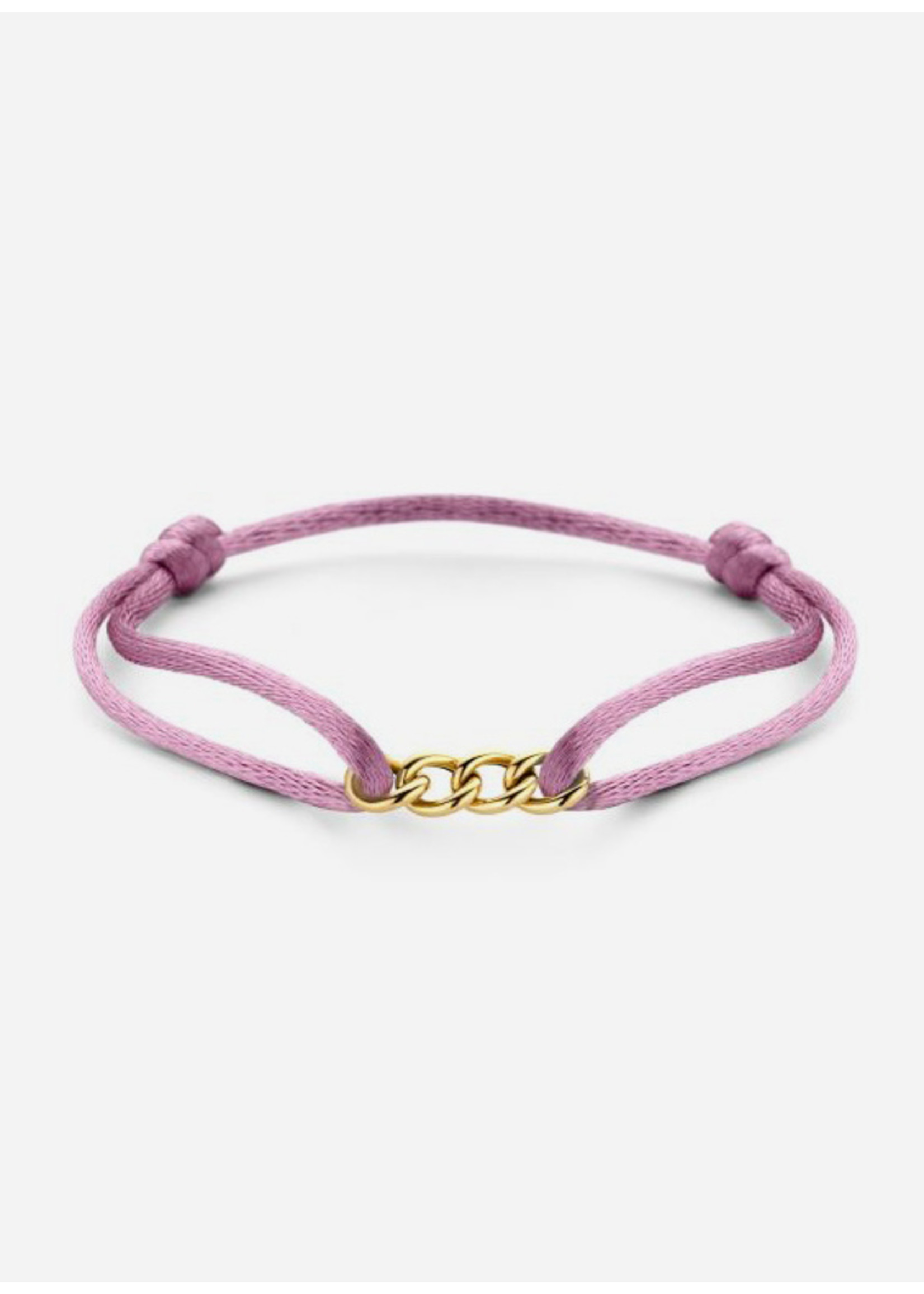 Just Franky Chain bracelet silk