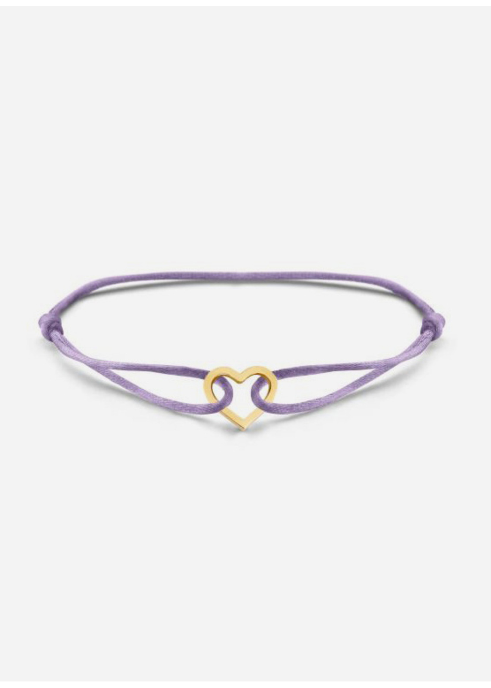 Just Franky Iconic bracelet heart cord