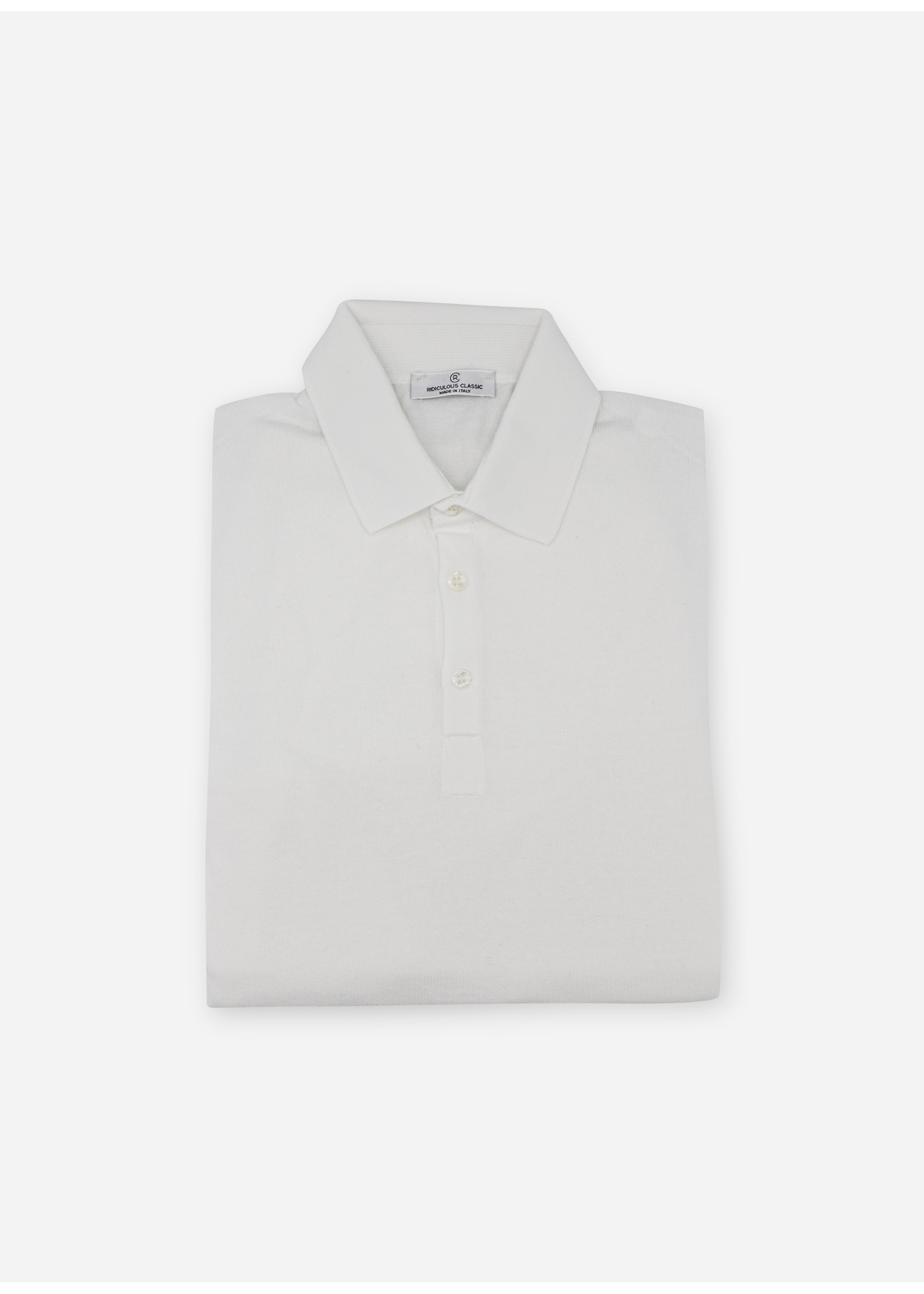 Ridiculous Classic Polo shirt white tennis