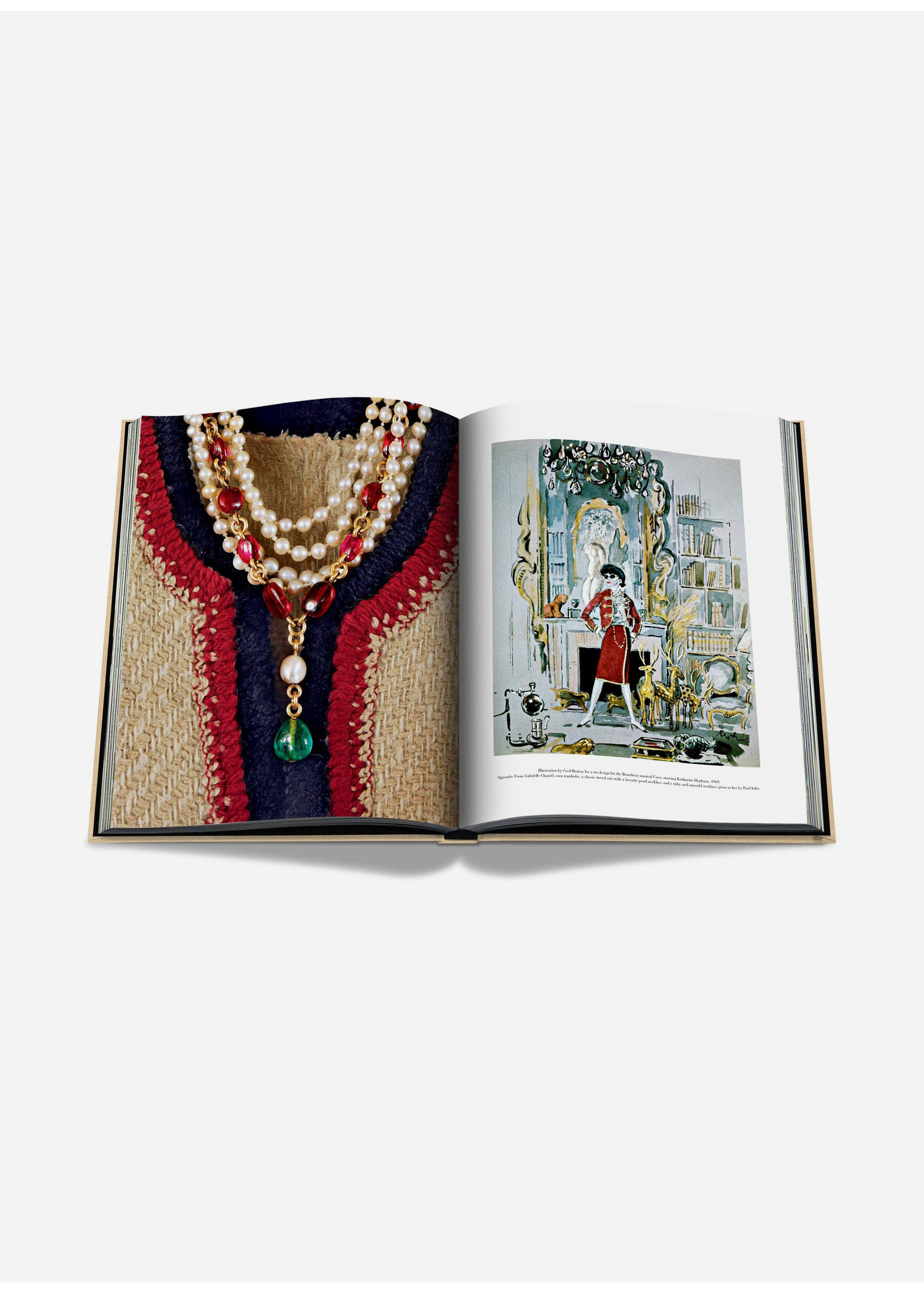 Assouline Books Chanel The Impossible Collection