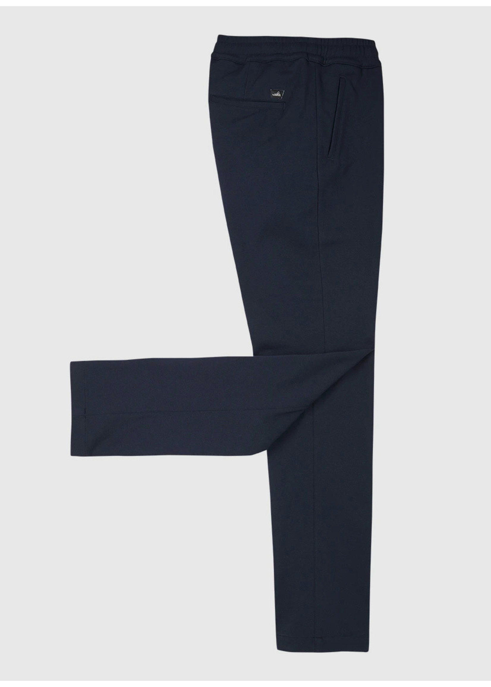 Wahts Jades comfort trousers navy blue