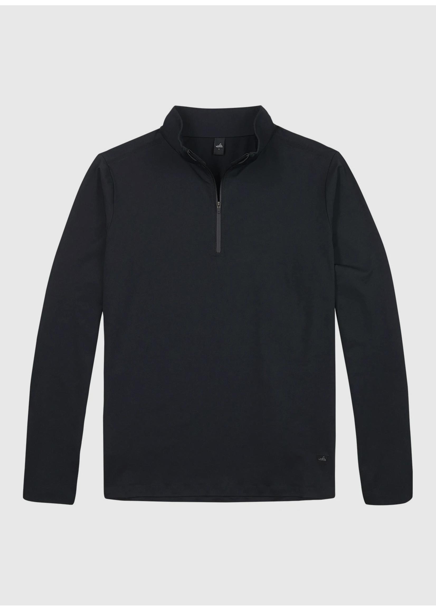Wahts Cole cross sports half zip top carbon black