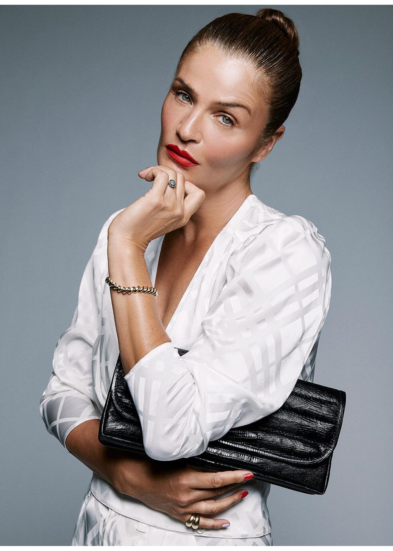 Anine Bing Natasha clutch black