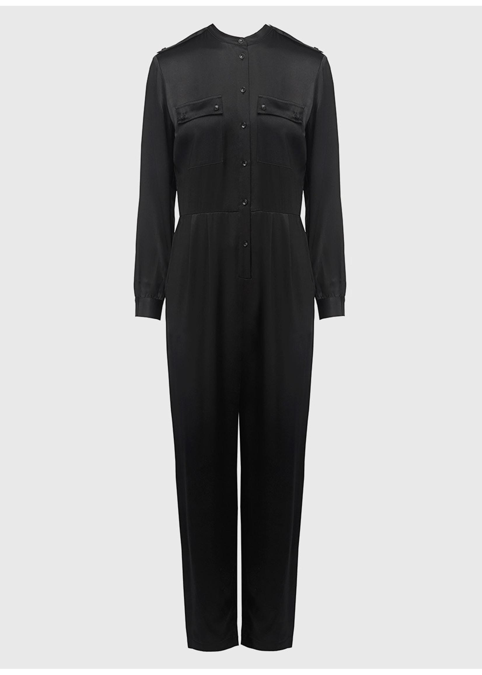 Anine Bing Rosalie jumpsuit black