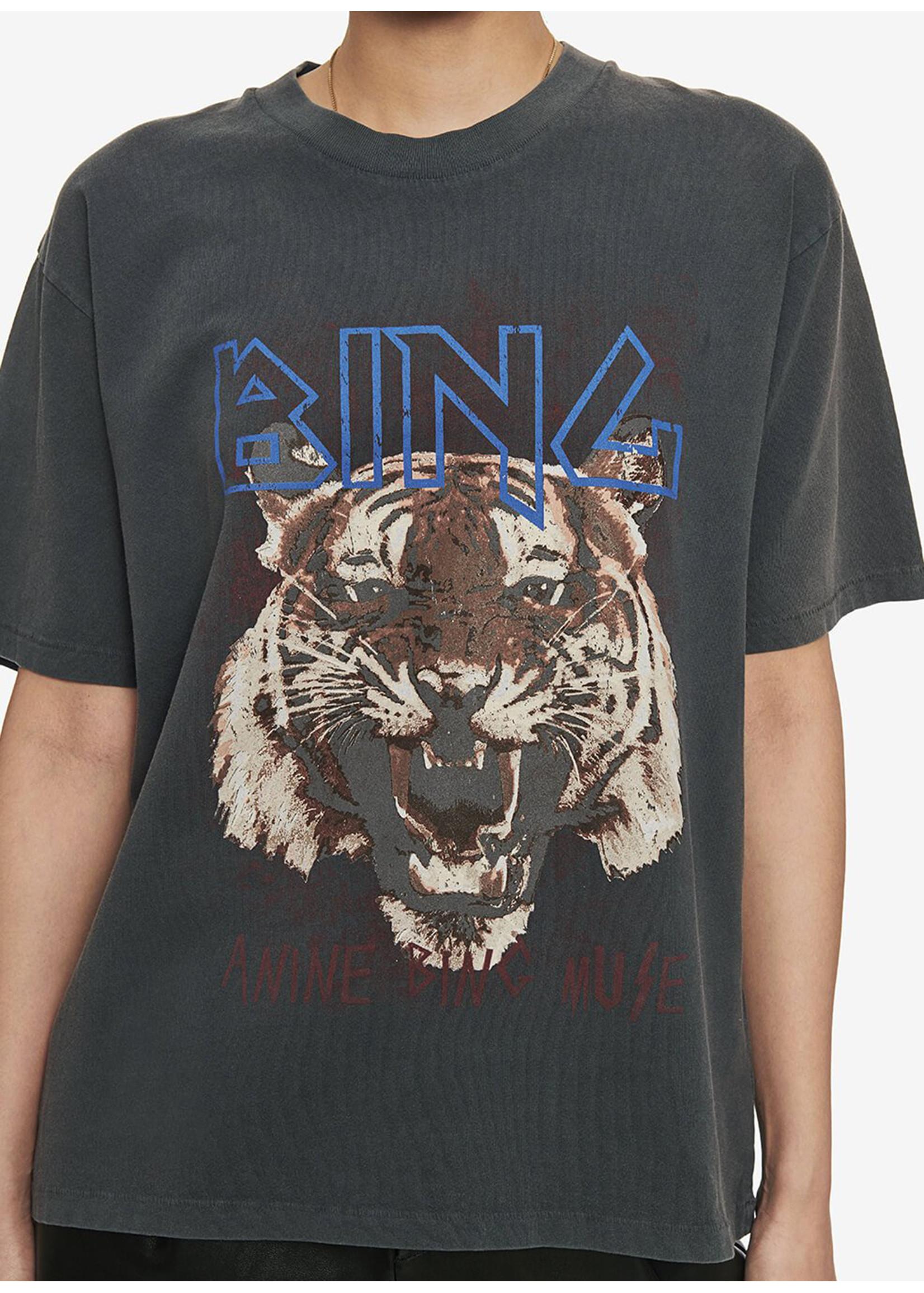 Anine Bing Tiger tee black