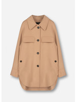 Arma Isabeau jacket 100% wool light camel