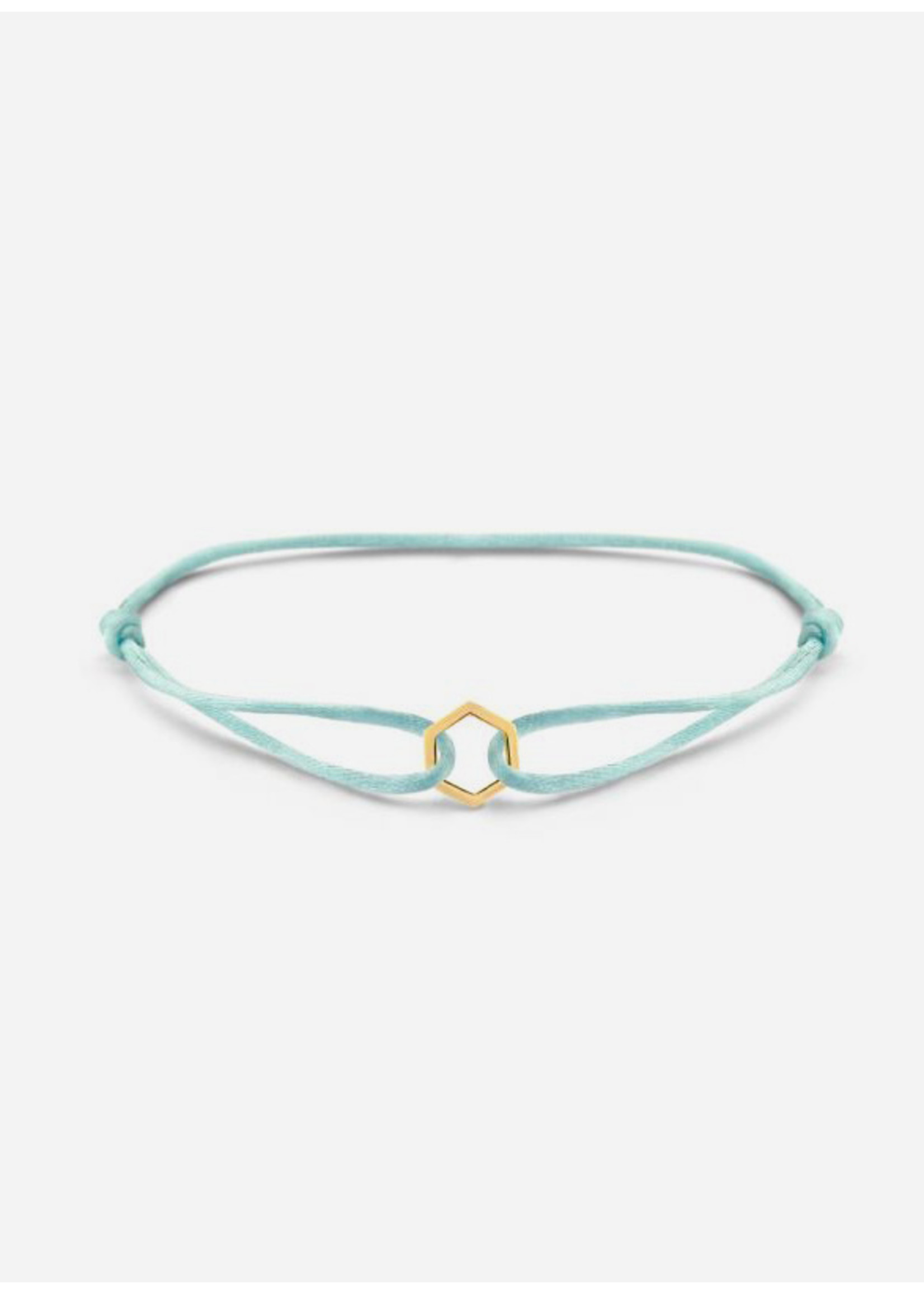 Just Franky Iconic bracelet hexagon cord