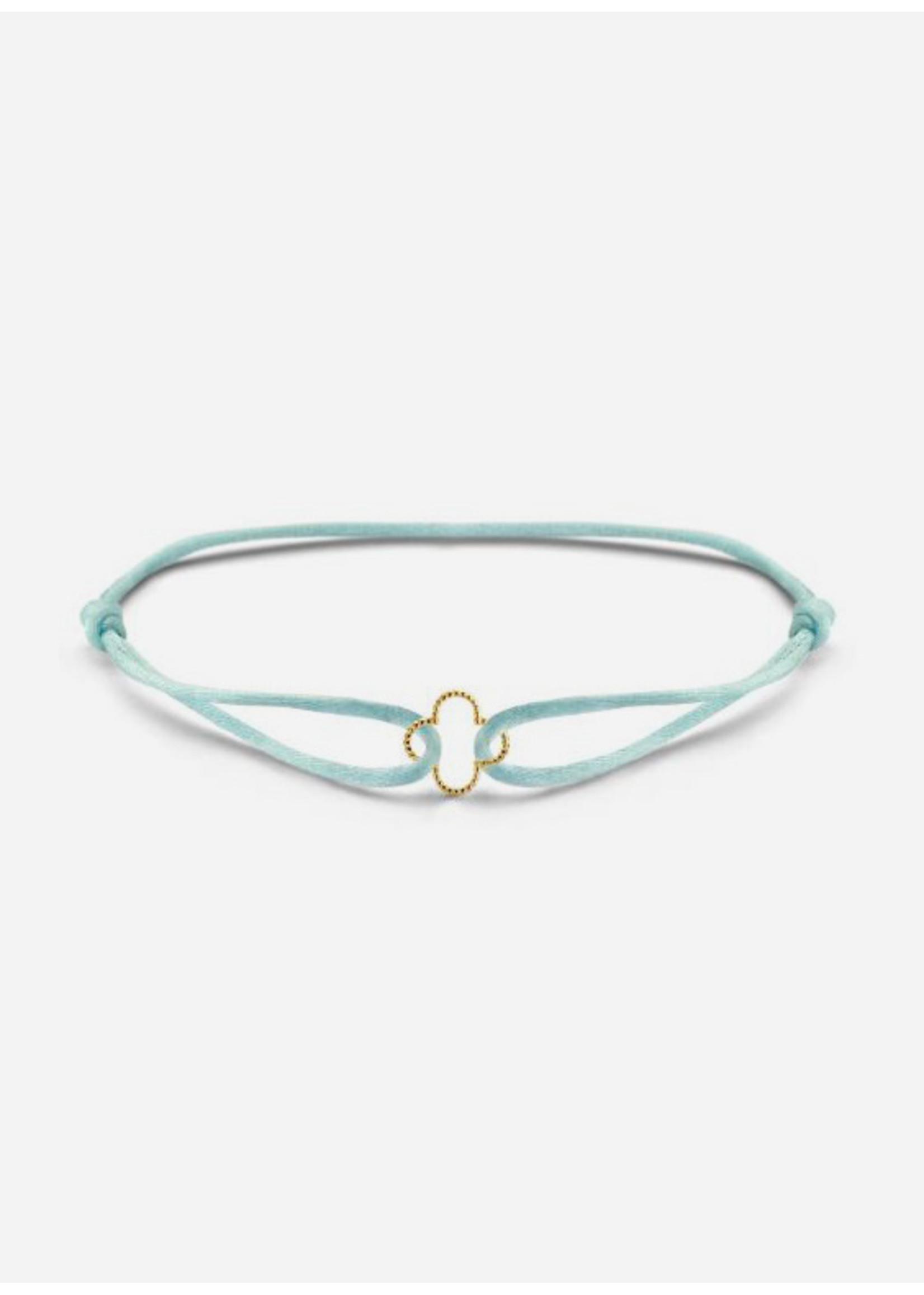 Just Franky Vintage clover bracelet cord