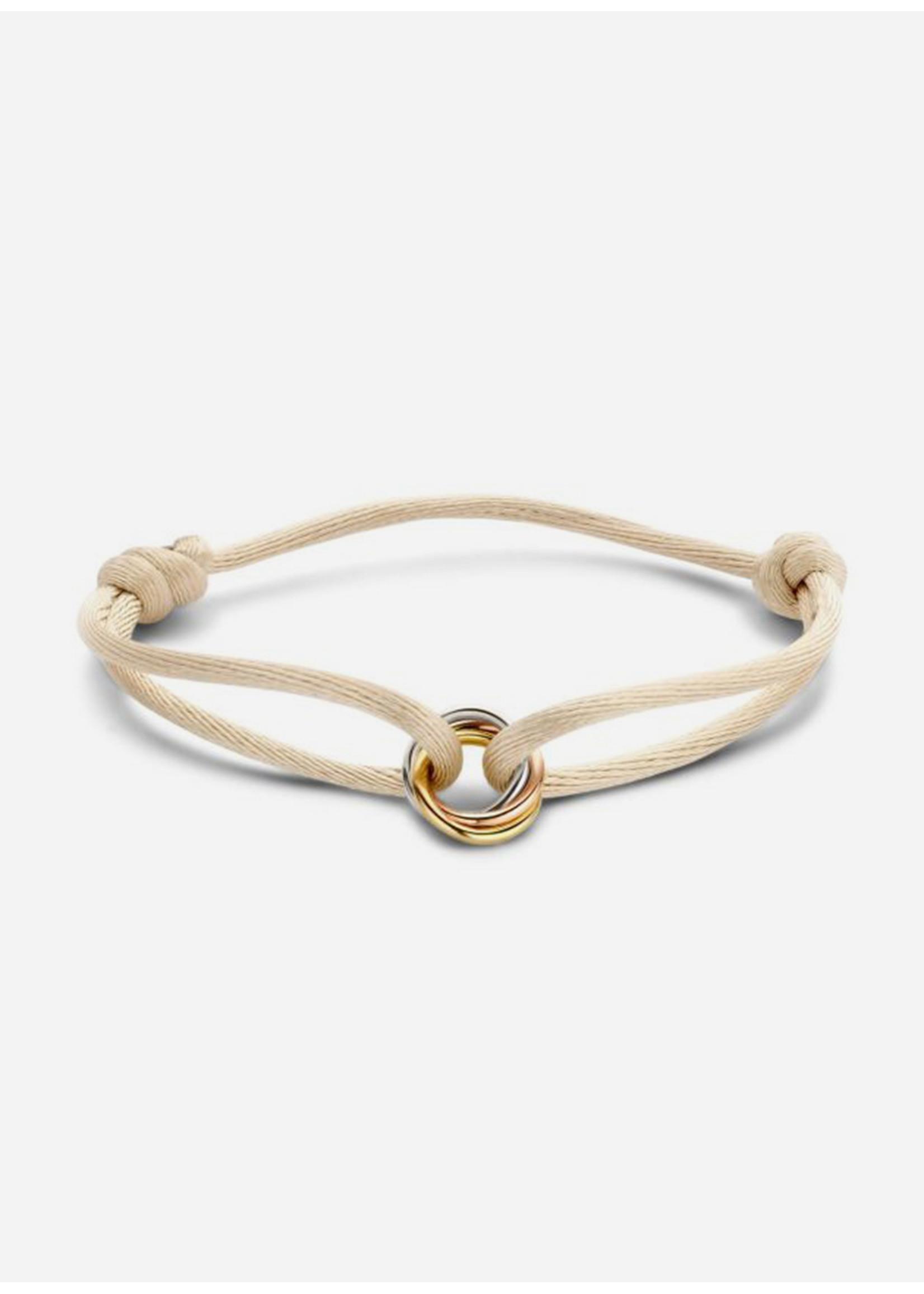 Just Franky Iconic triple colour bracelet