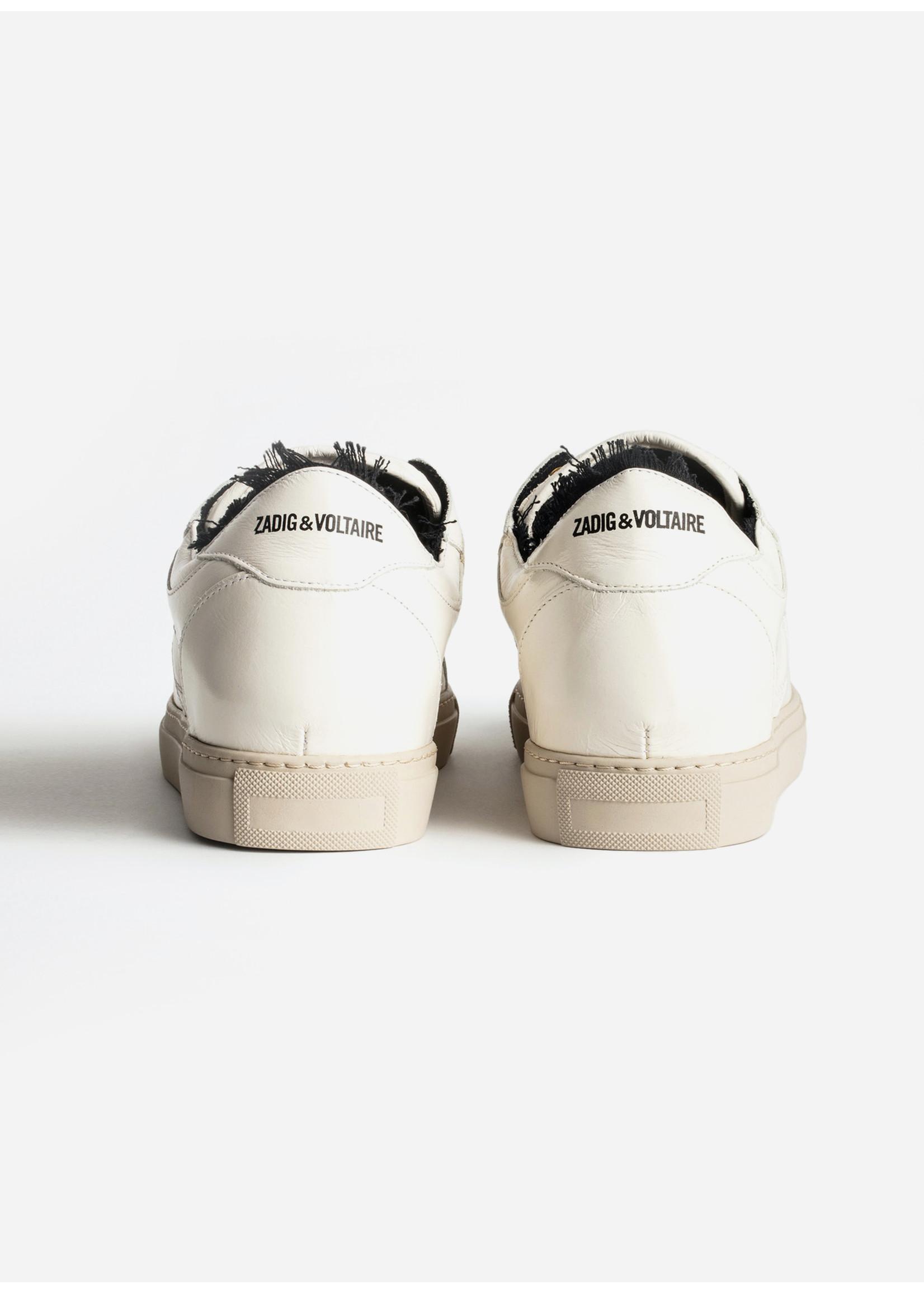 Zadig & Voltaire Board top patch crush sneaker