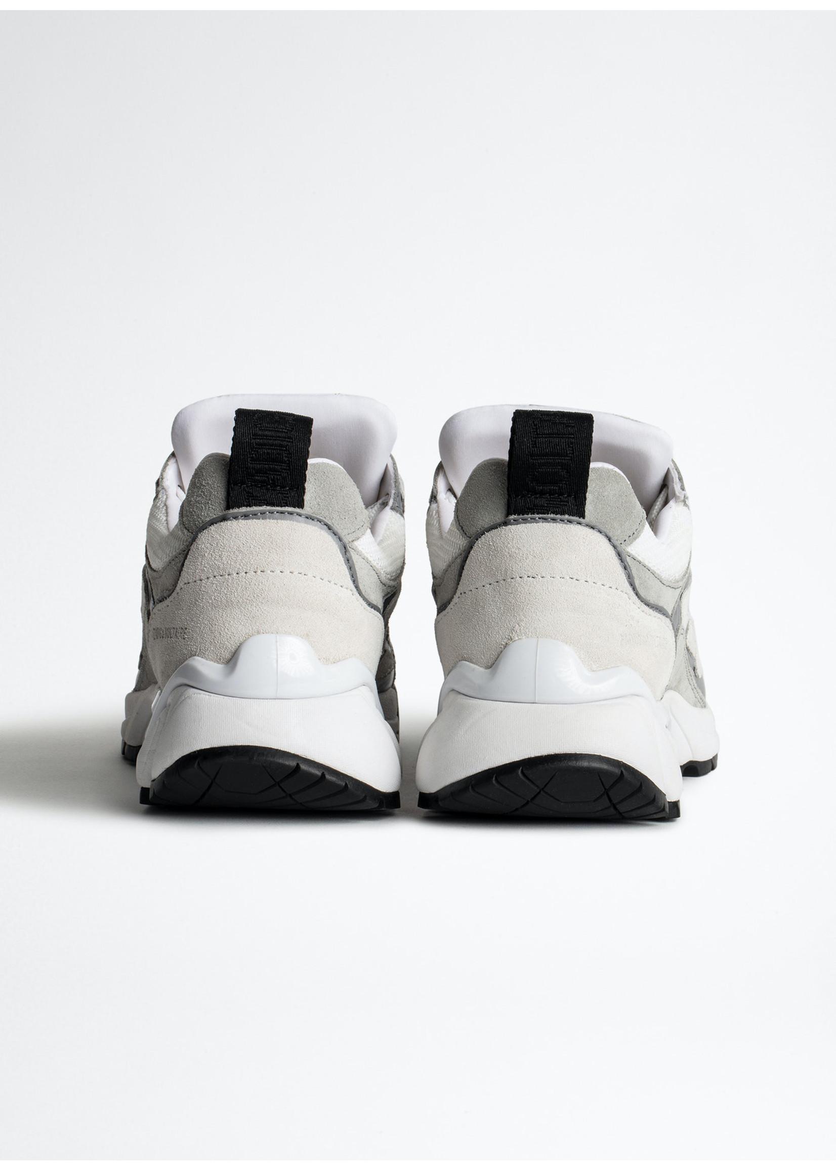 Zadig & Voltaire Waeve mix neoprene sneakers