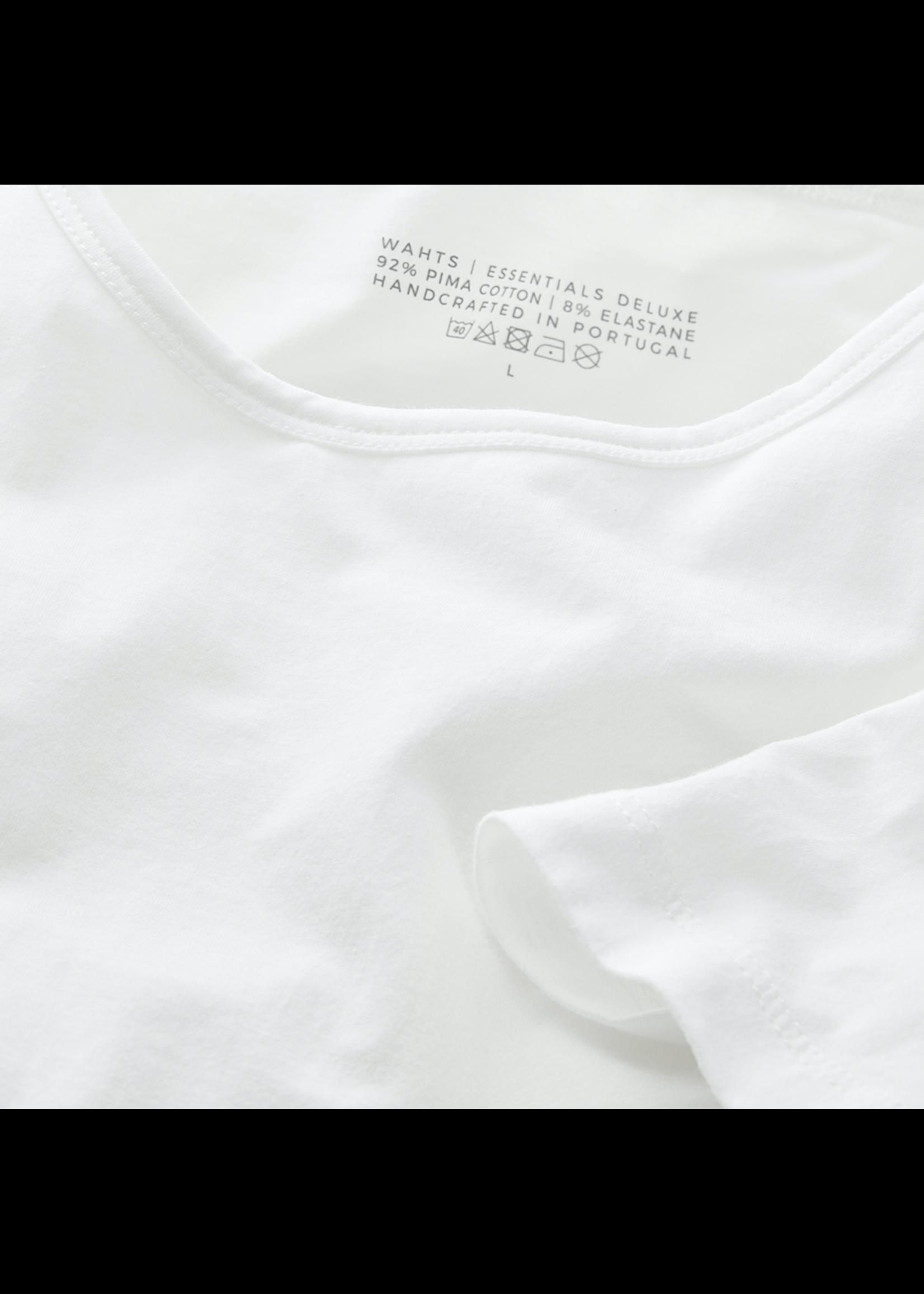 Wahts Colton tshirt pure white