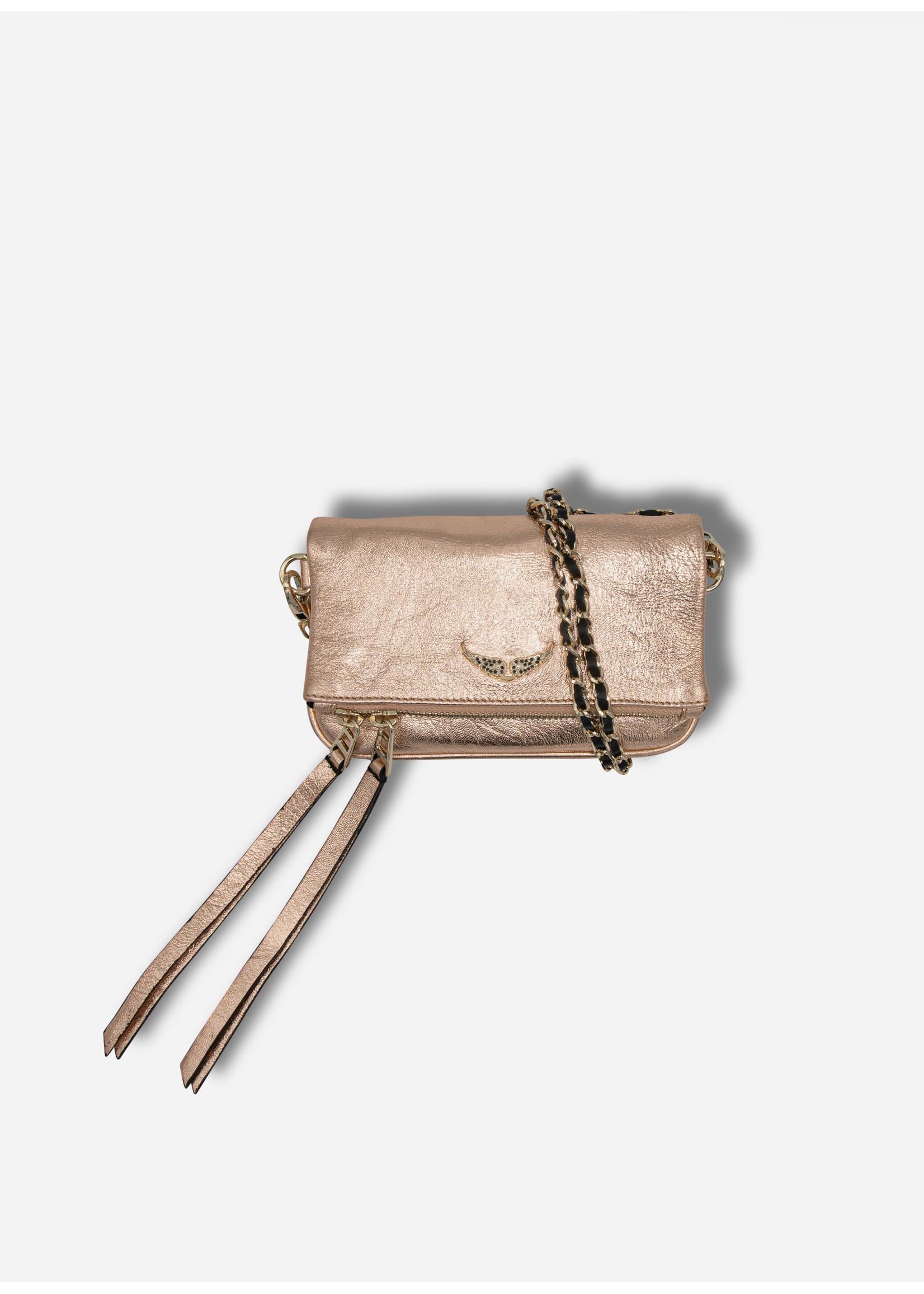 Zadig & Voltaire Rock nano met copper