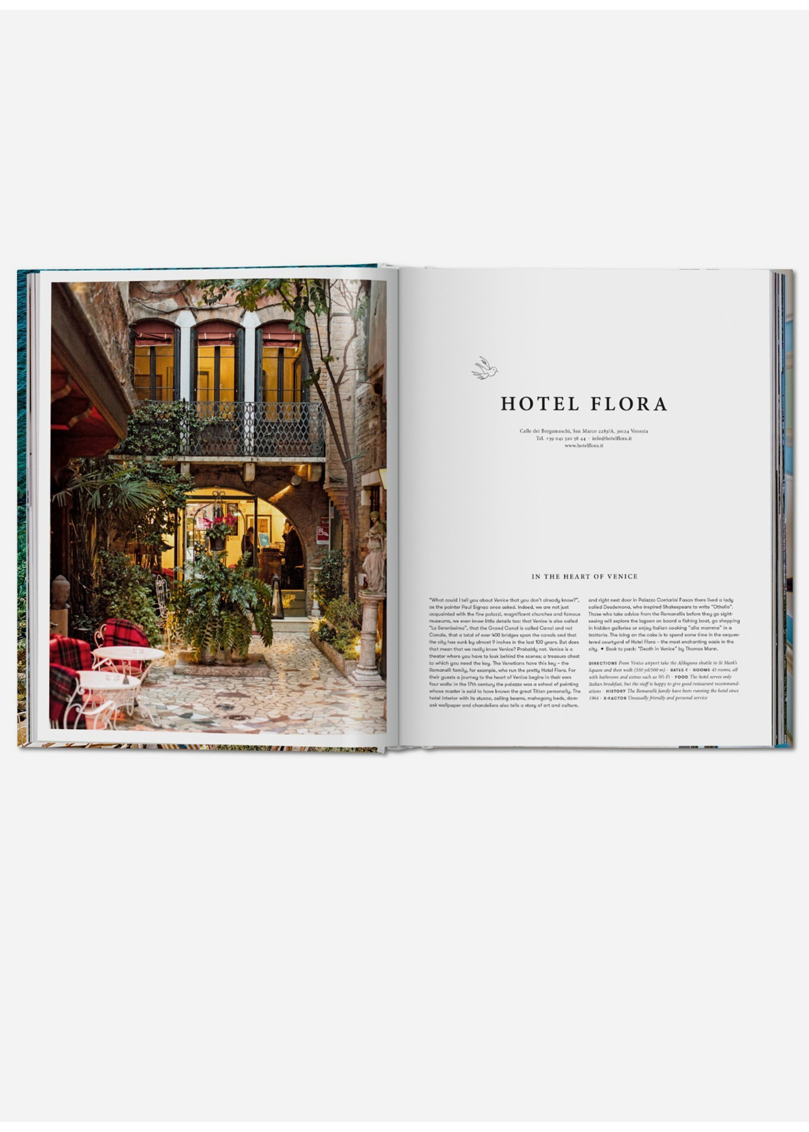 Taschen Books Great Escapes Italy