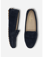 Ridiculous Classic Mocca Navy Suede