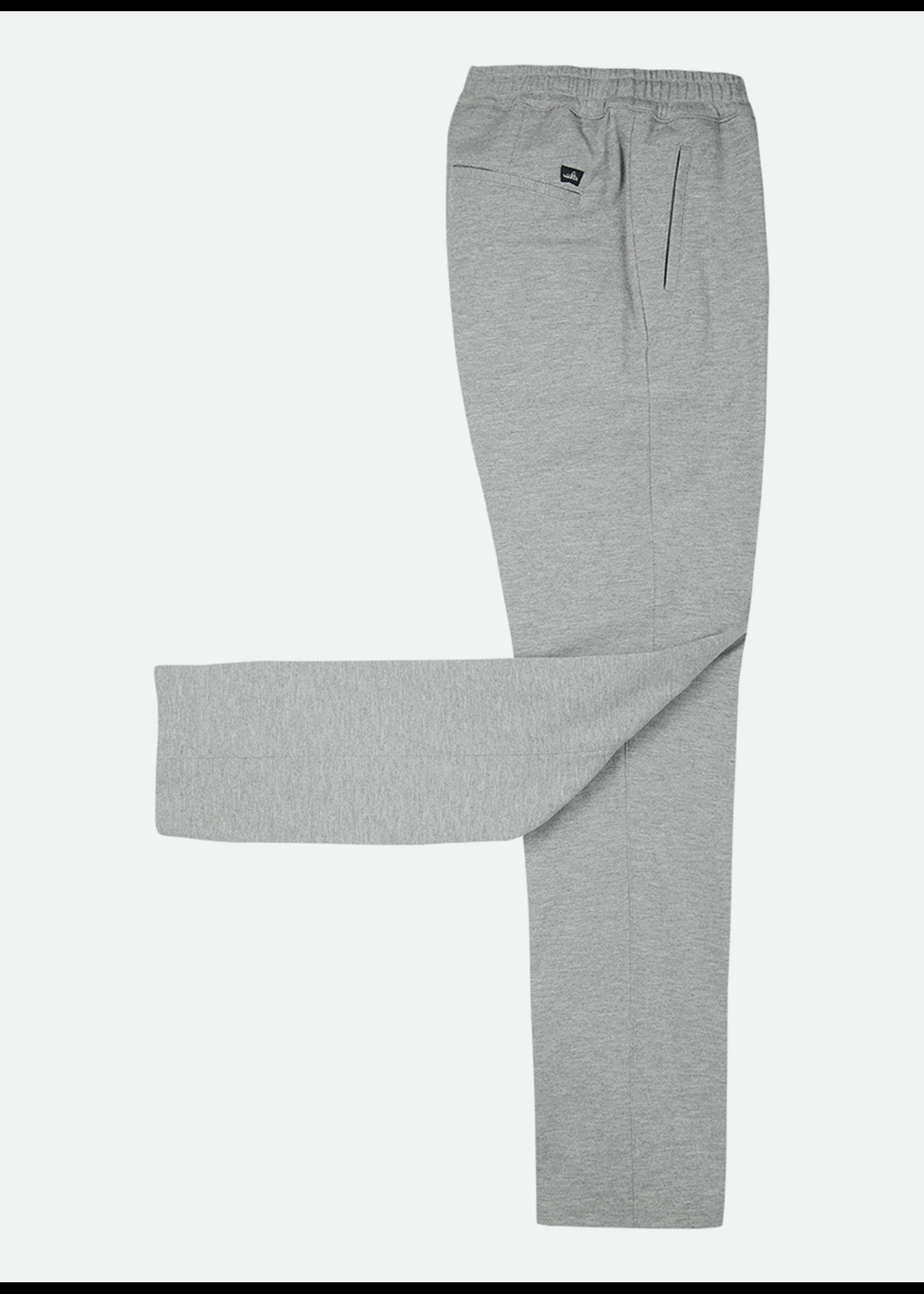 Wahts Jades comfort trousers light grey melange