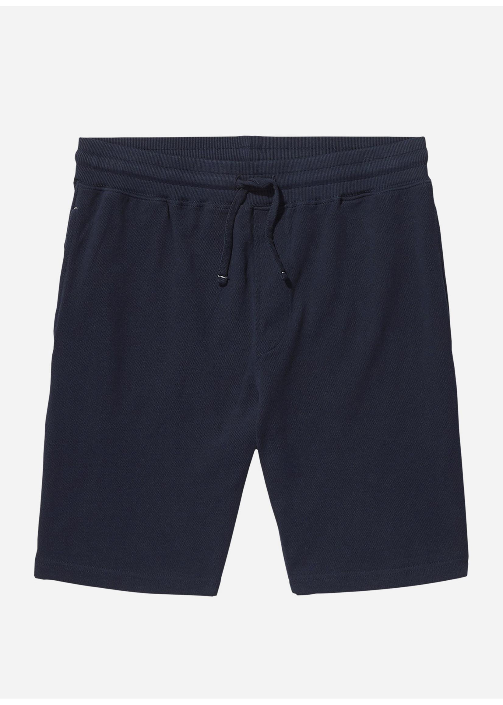 Wahts Key pique shorts  navy blue