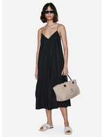 Anine Bing Averie dress black