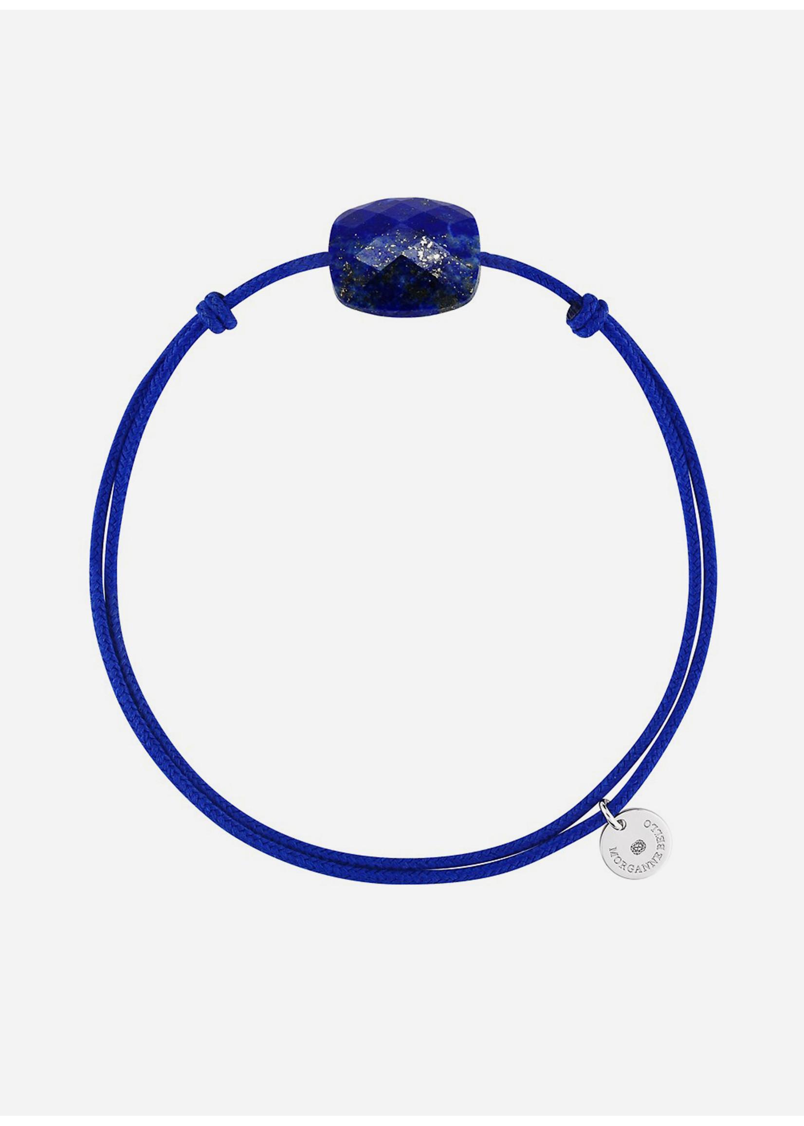 Morganne Bello Cushion lapis lazuli bracelet
