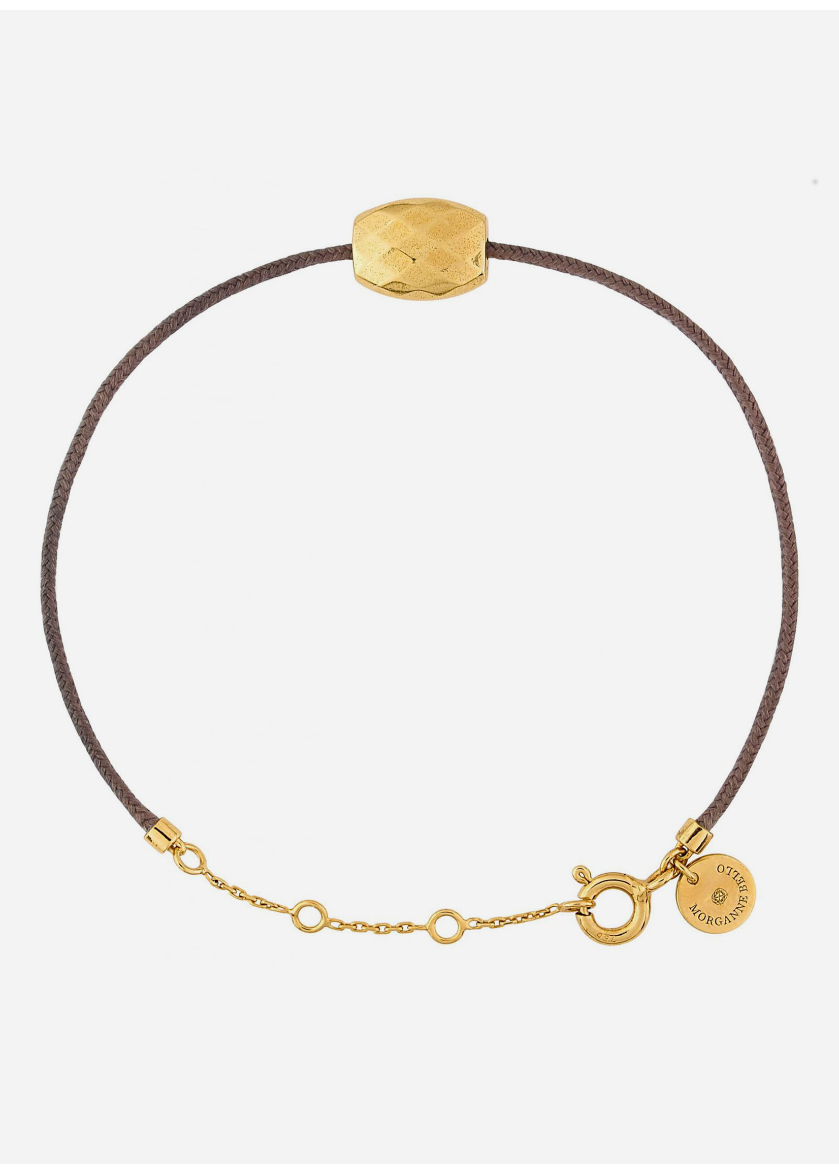Morganne Bello Pepite yellow gold bracelet
