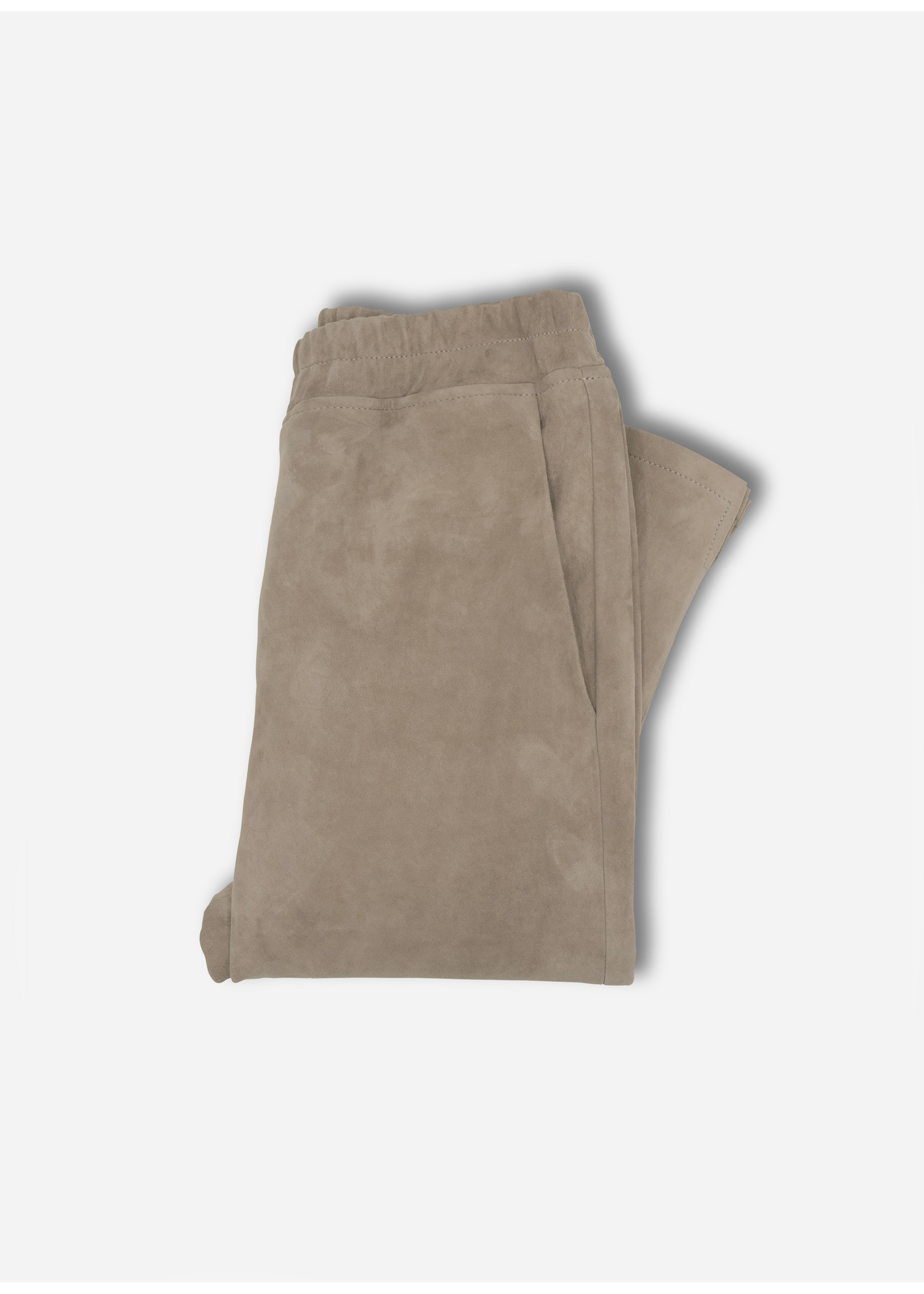 Arma Chatou stretch suede grey taupe